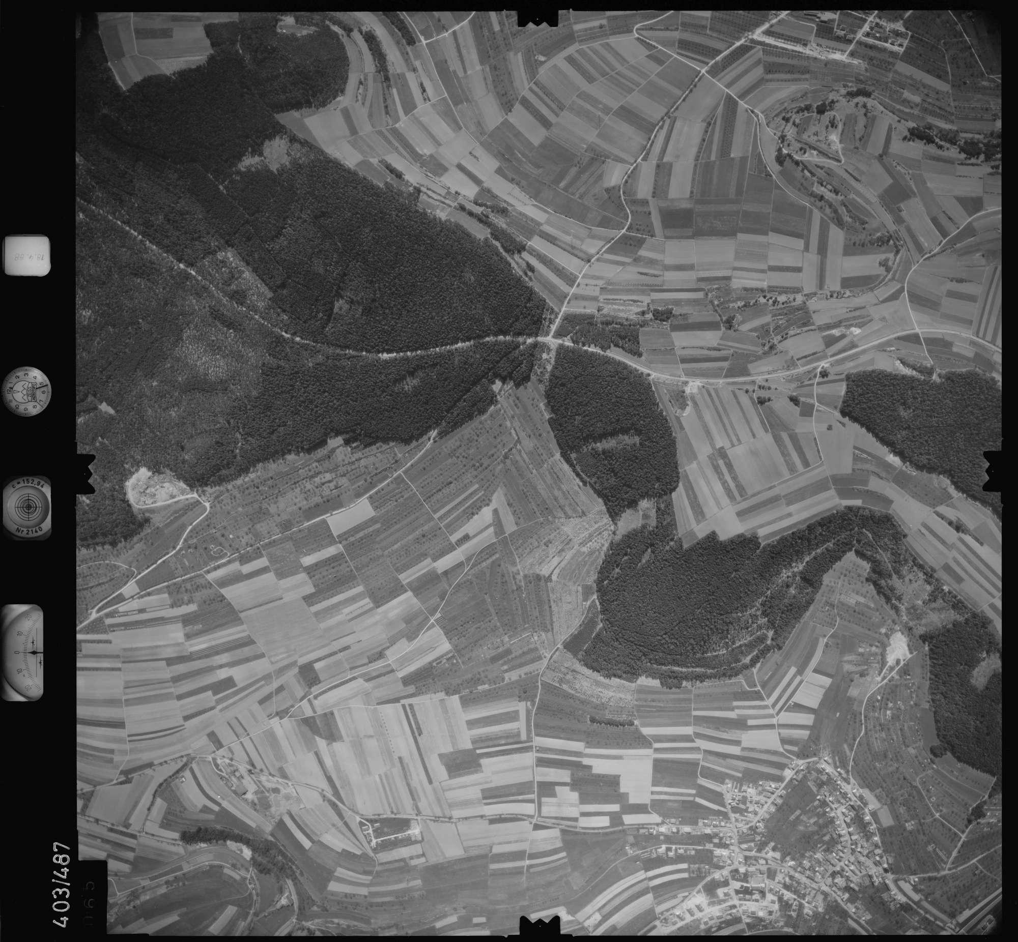 Luftbild: Film 9 Bildnr. 65, Bild 1
