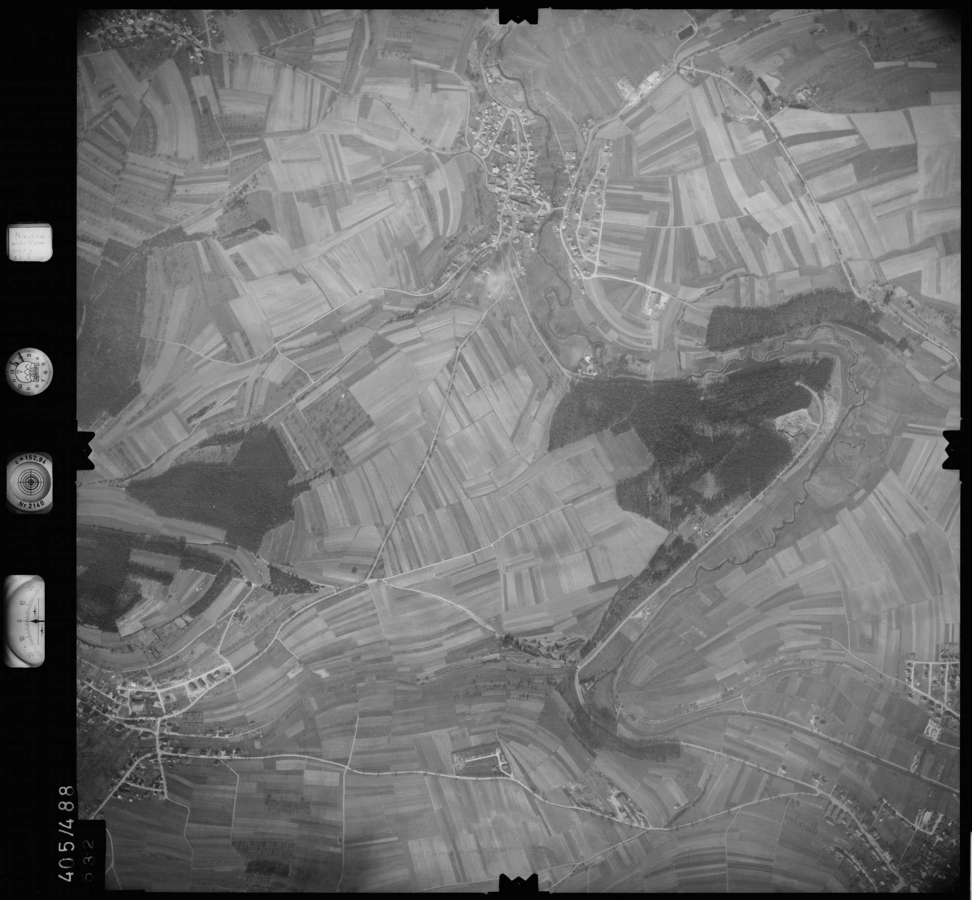 Luftbild: Film 10 Bildnr. 532, Bild 1