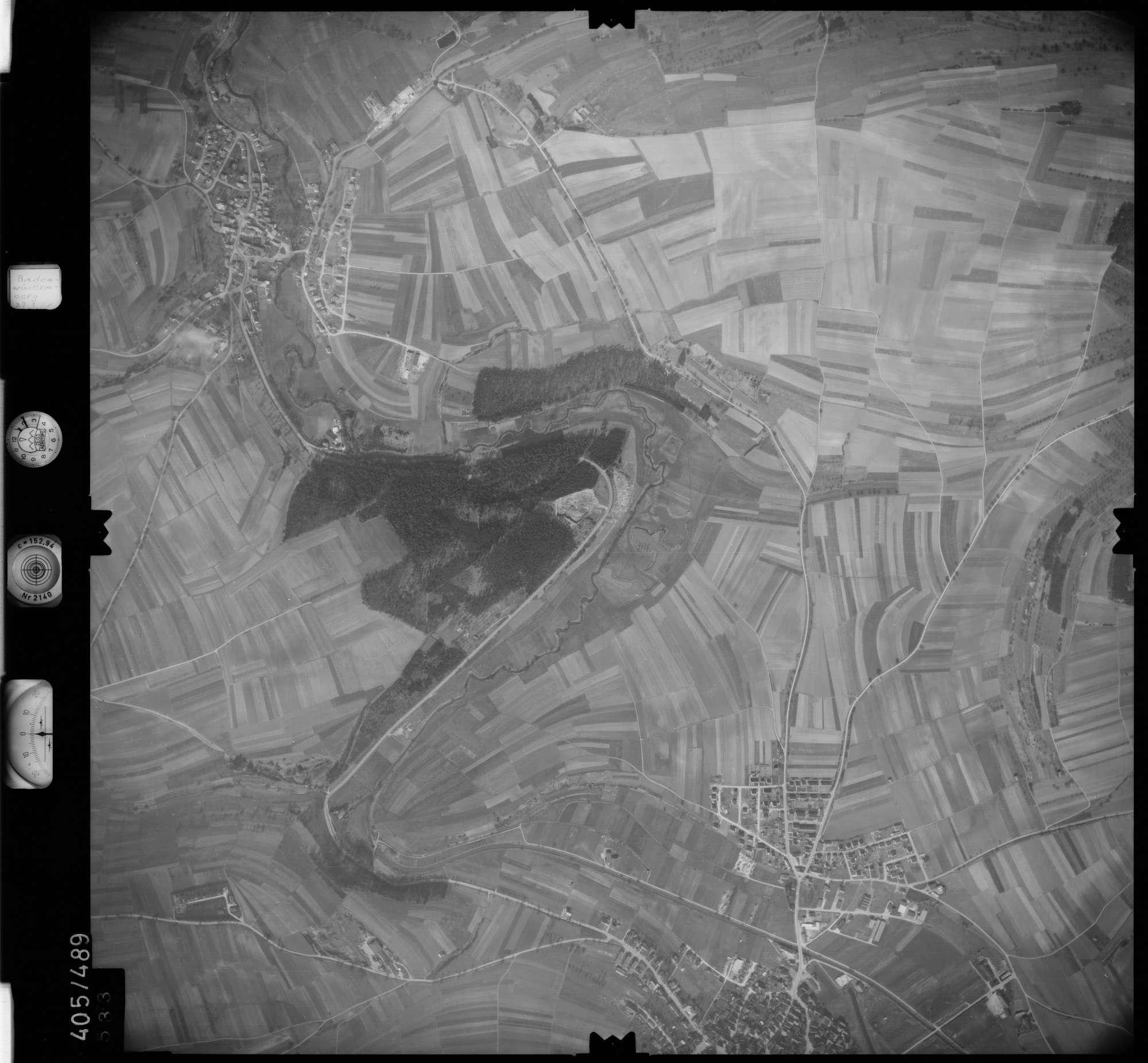 Luftbild: Film 10 Bildnr. 533, Bild 1
