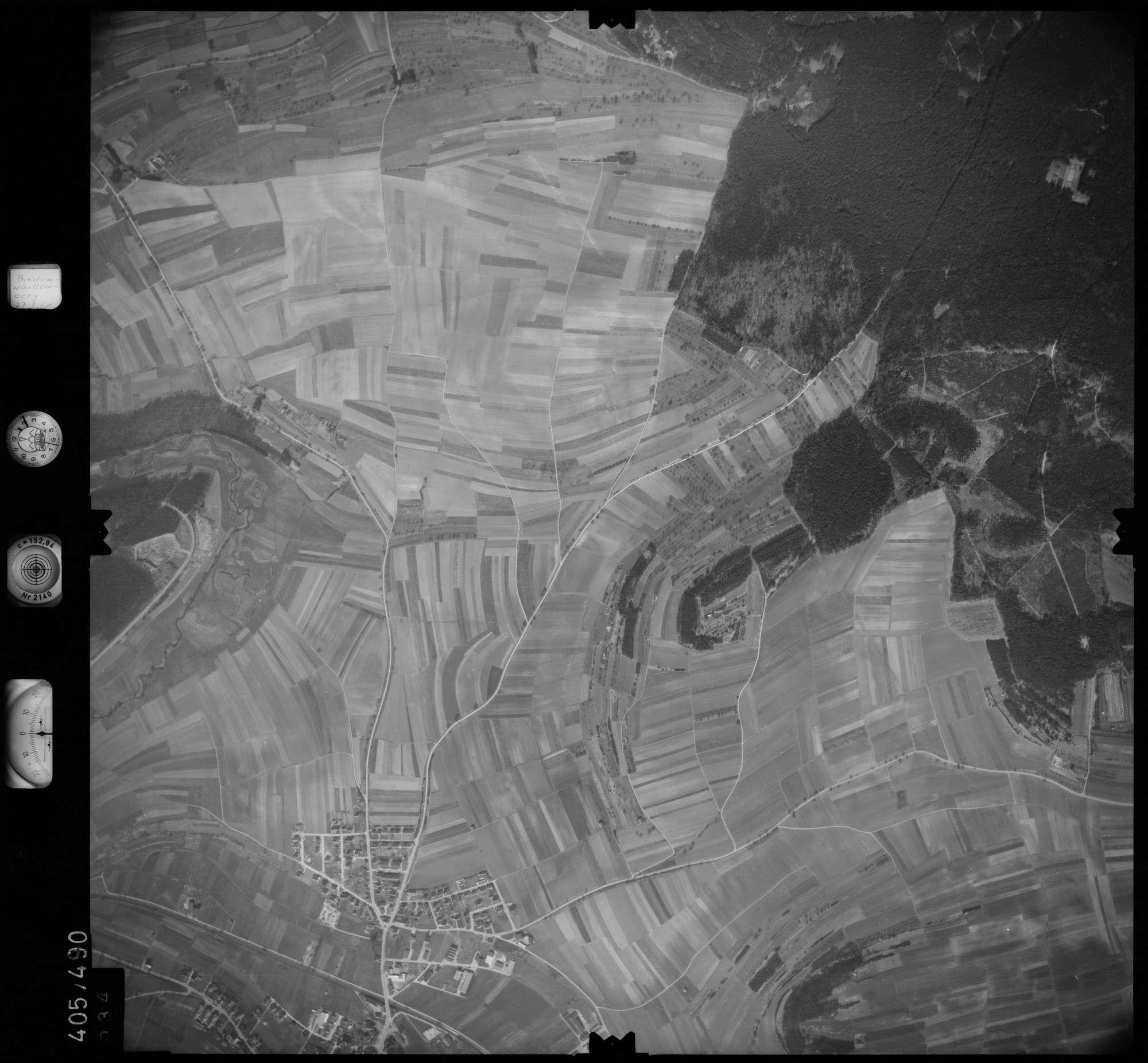 Luftbild: Film 10 Bildnr. 534, Bild 1