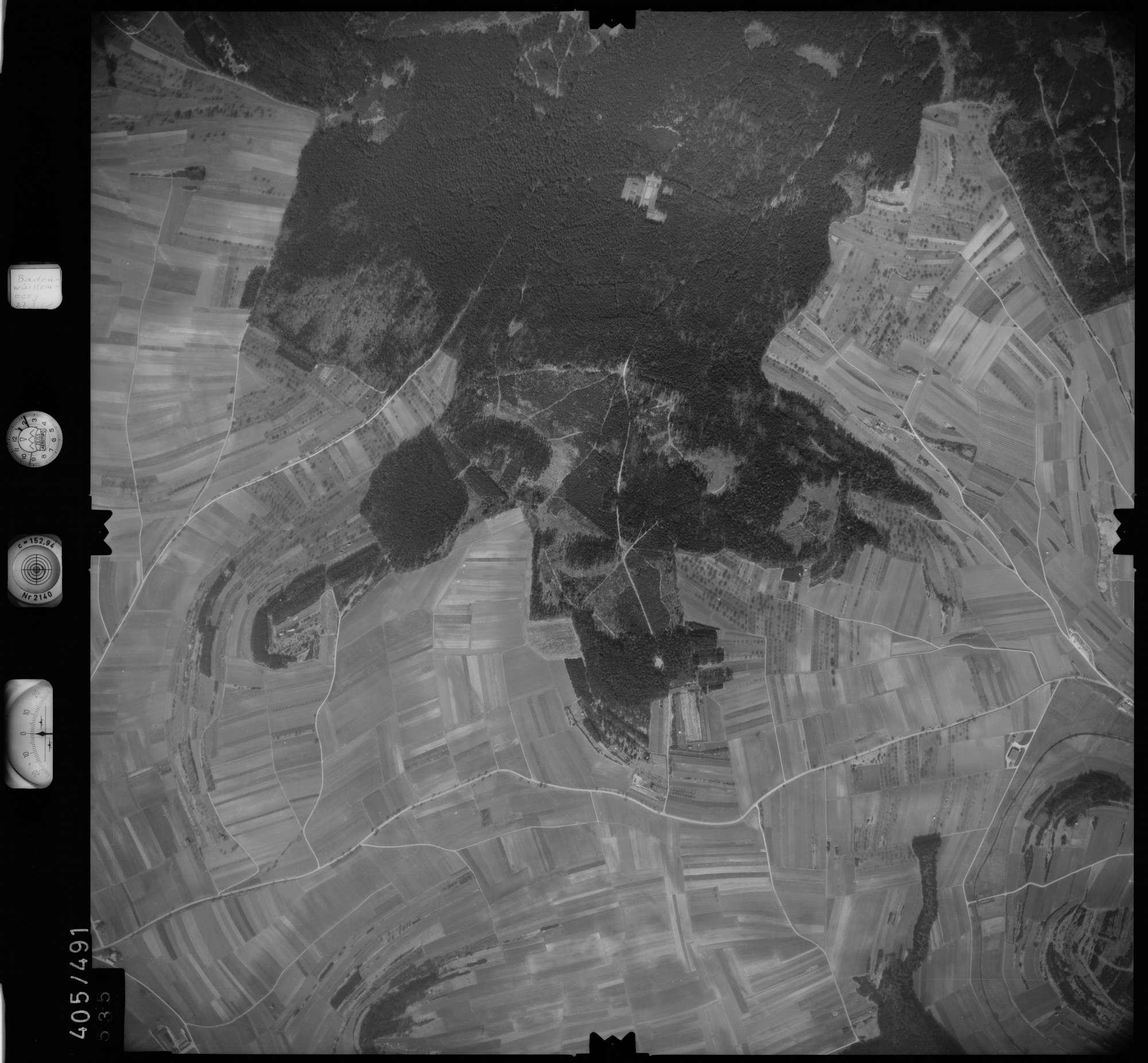 Luftbild: Film 10 Bildnr. 535, Bild 1