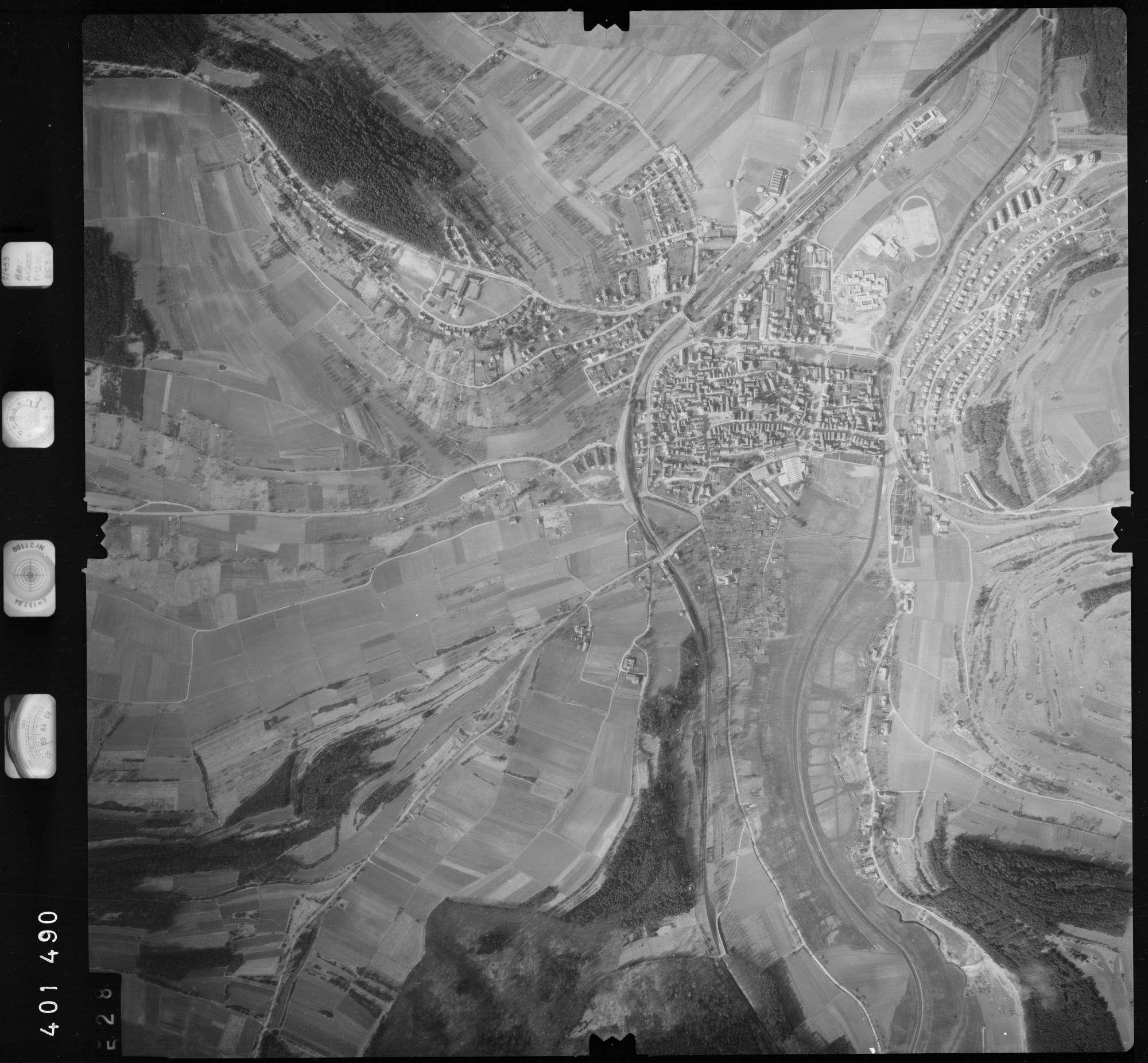 Luftbild: Film 23 Bildnr. 528, Bild 1