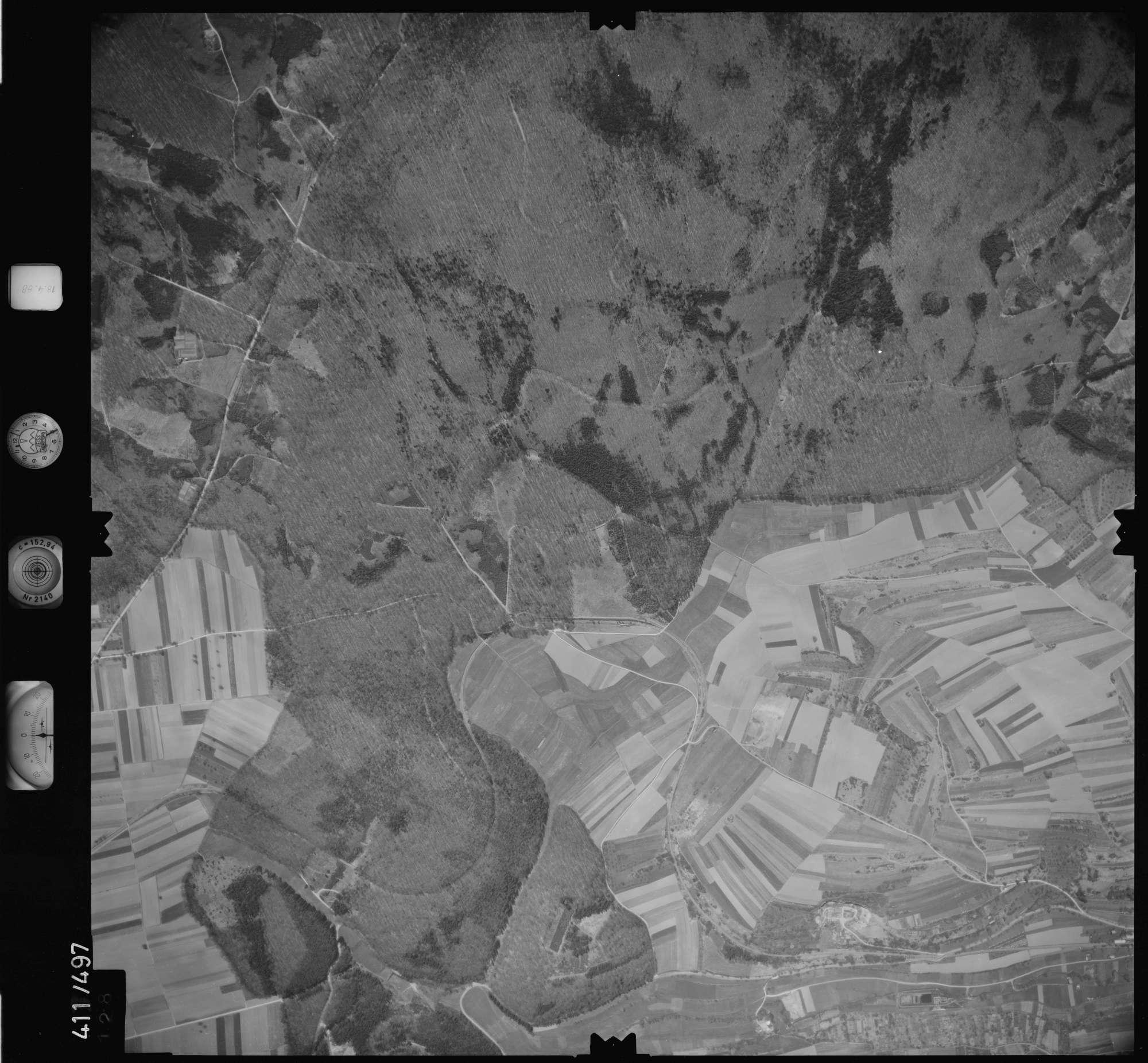 Luftbild: Film 4 Bildnr. 128, Bild 1