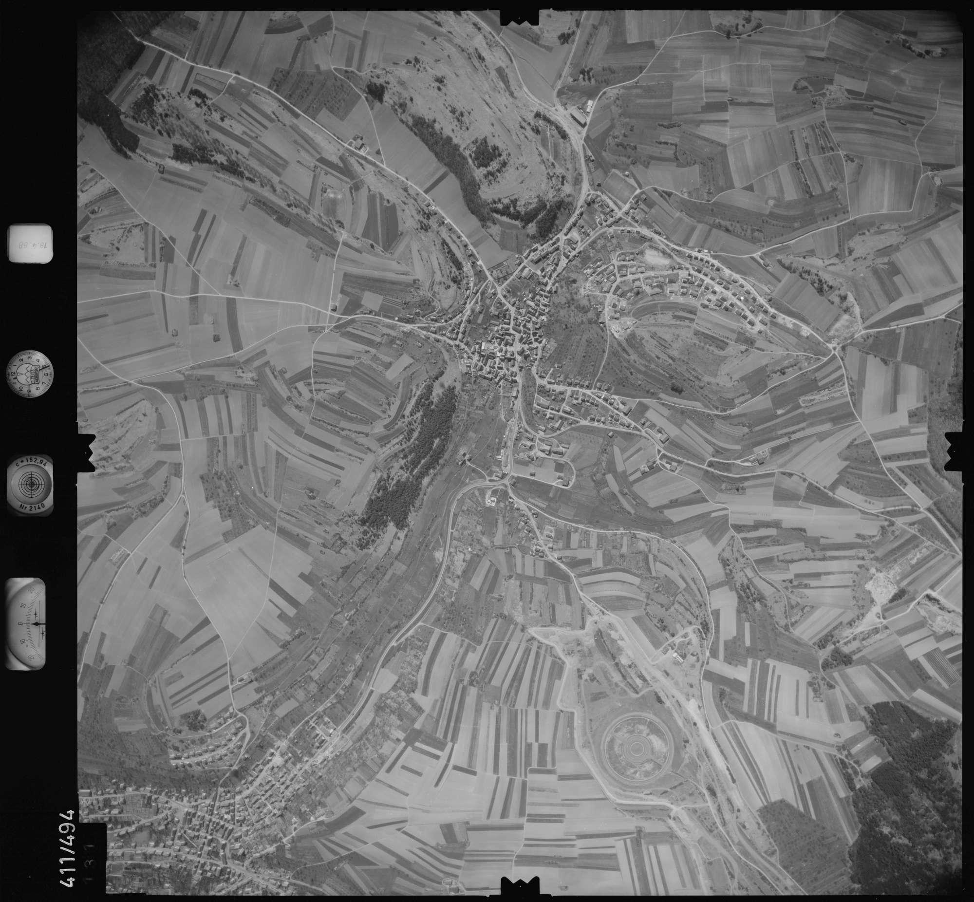 Luftbild: Film 4 Bildnr. 131, Bild 1