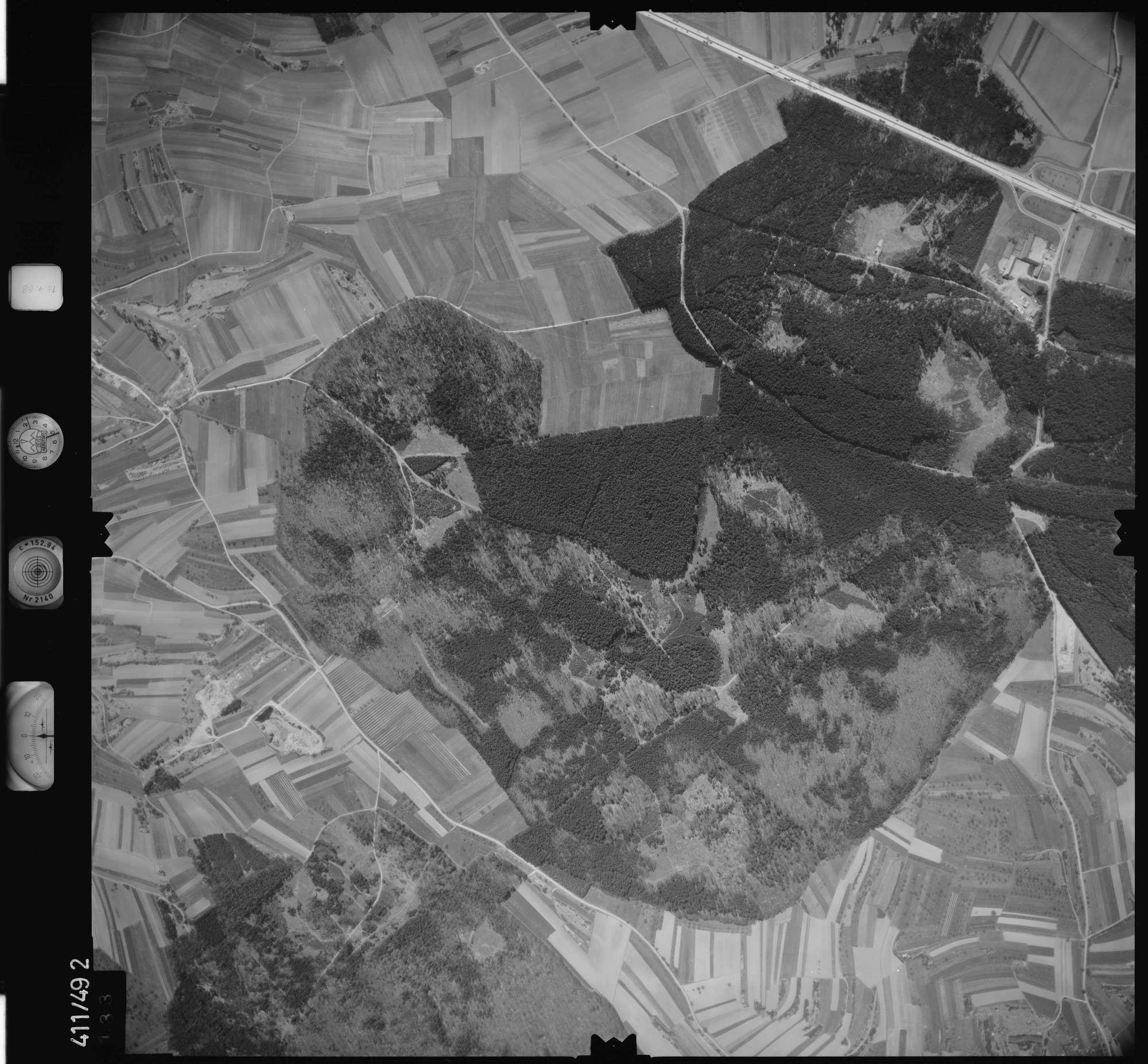 Luftbild: Film 4 Bildnr. 133, Bild 1