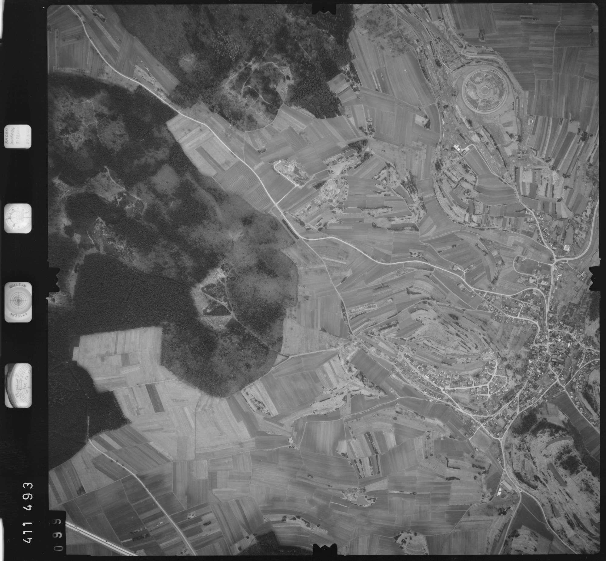 Luftbild: Film 5 Bildnr. 99, Bild 1