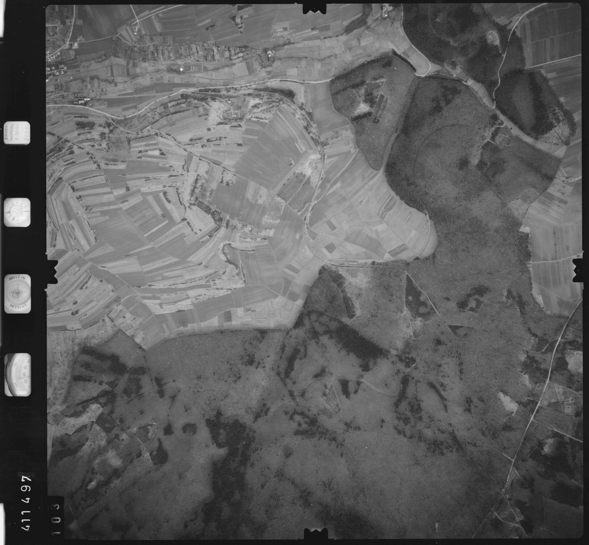 Luftbild: Film 5 Bildnr. 103, Bild 1