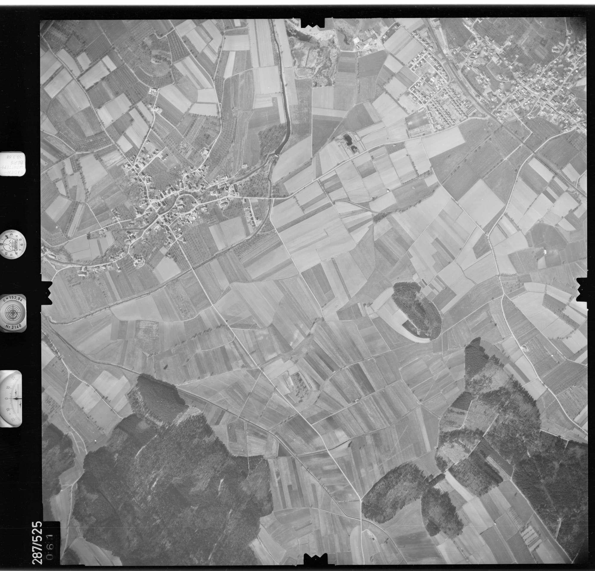 Luftbild: Film 78 Bildnr. 61, Bild 1