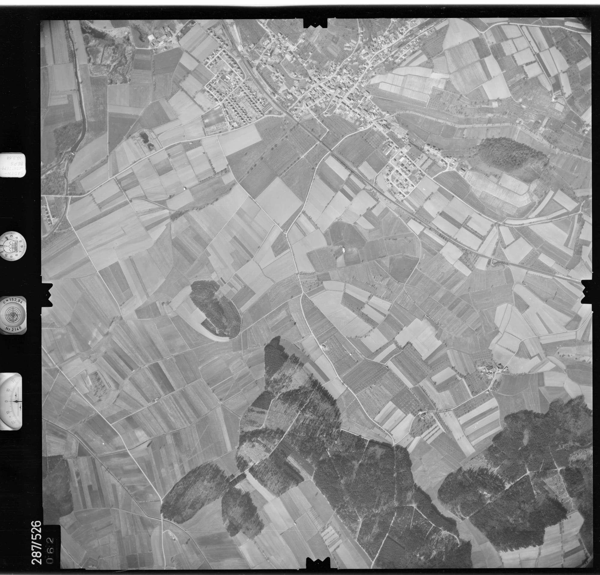 Luftbild: Film 78 Bildnr. 62, Bild 1