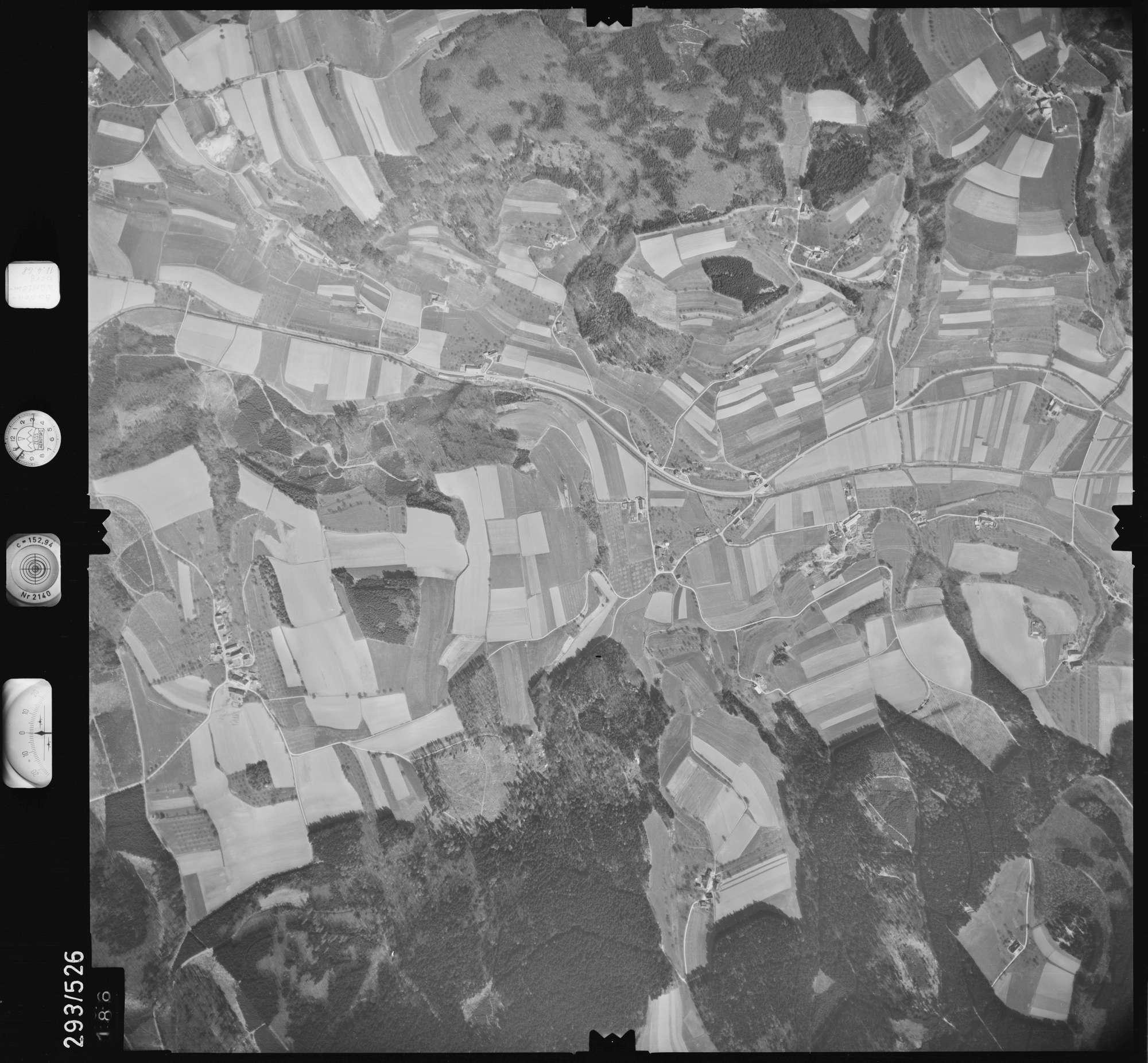 Luftbild: Film 43 Bildnr. 186, Bild 1