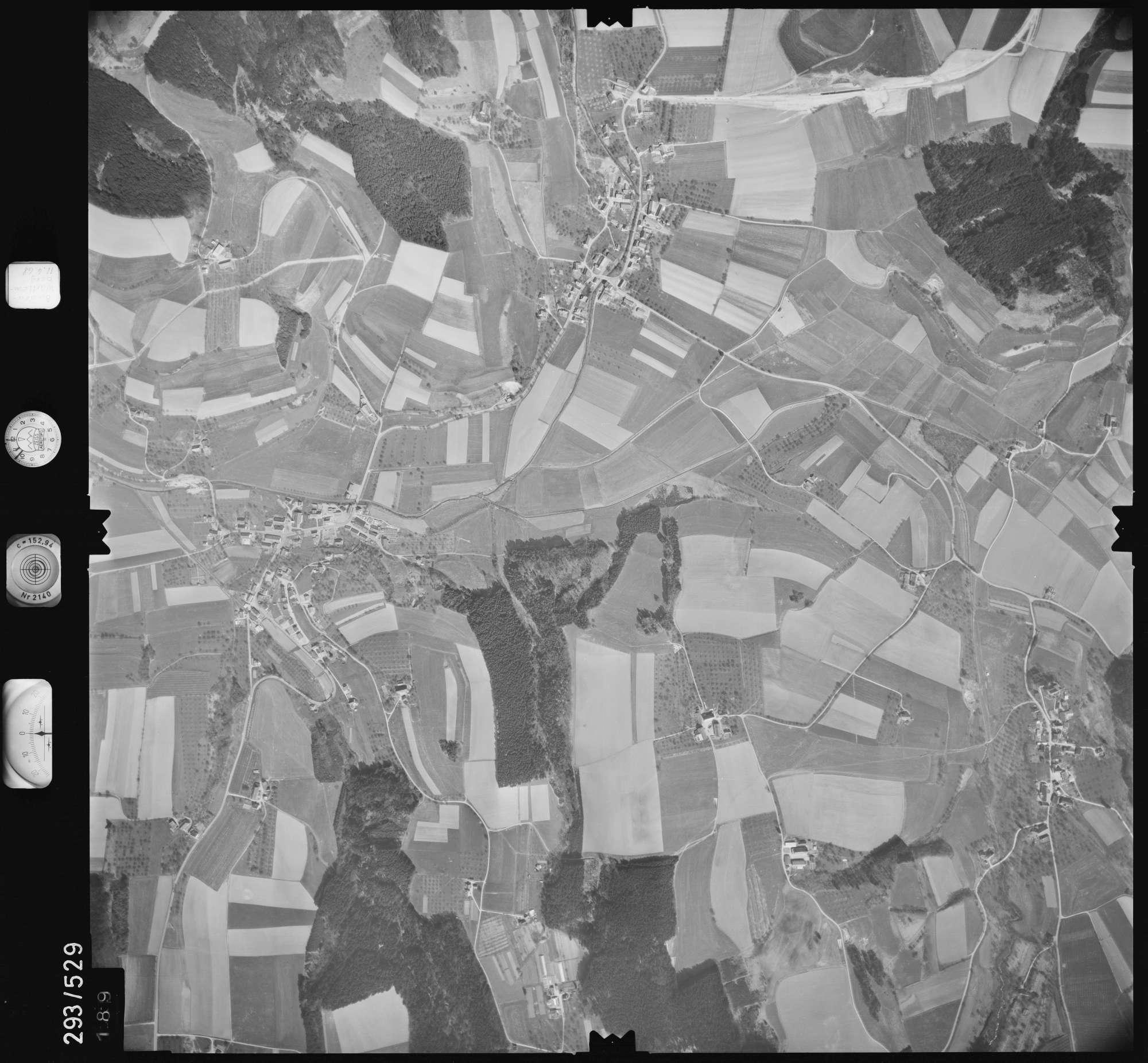 Luftbild: Film 43 Bildnr. 189, Bild 1