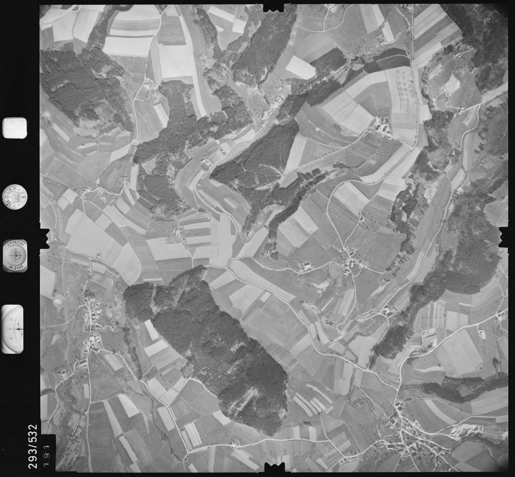 Luftbild: Film 43 Bildnr. 191, Bild 1