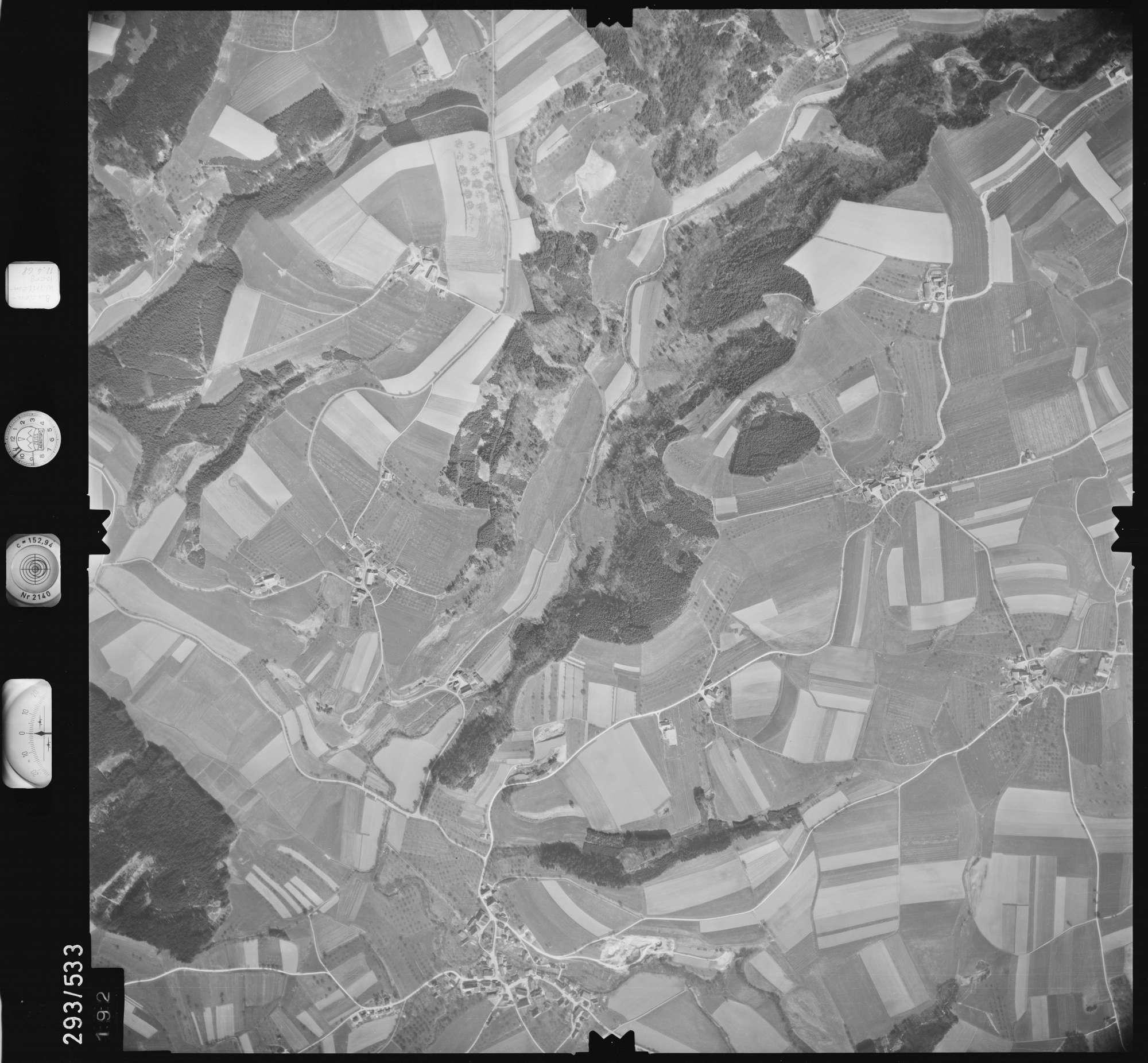 Luftbild: Film 43 Bildnr. 192, Bild 1