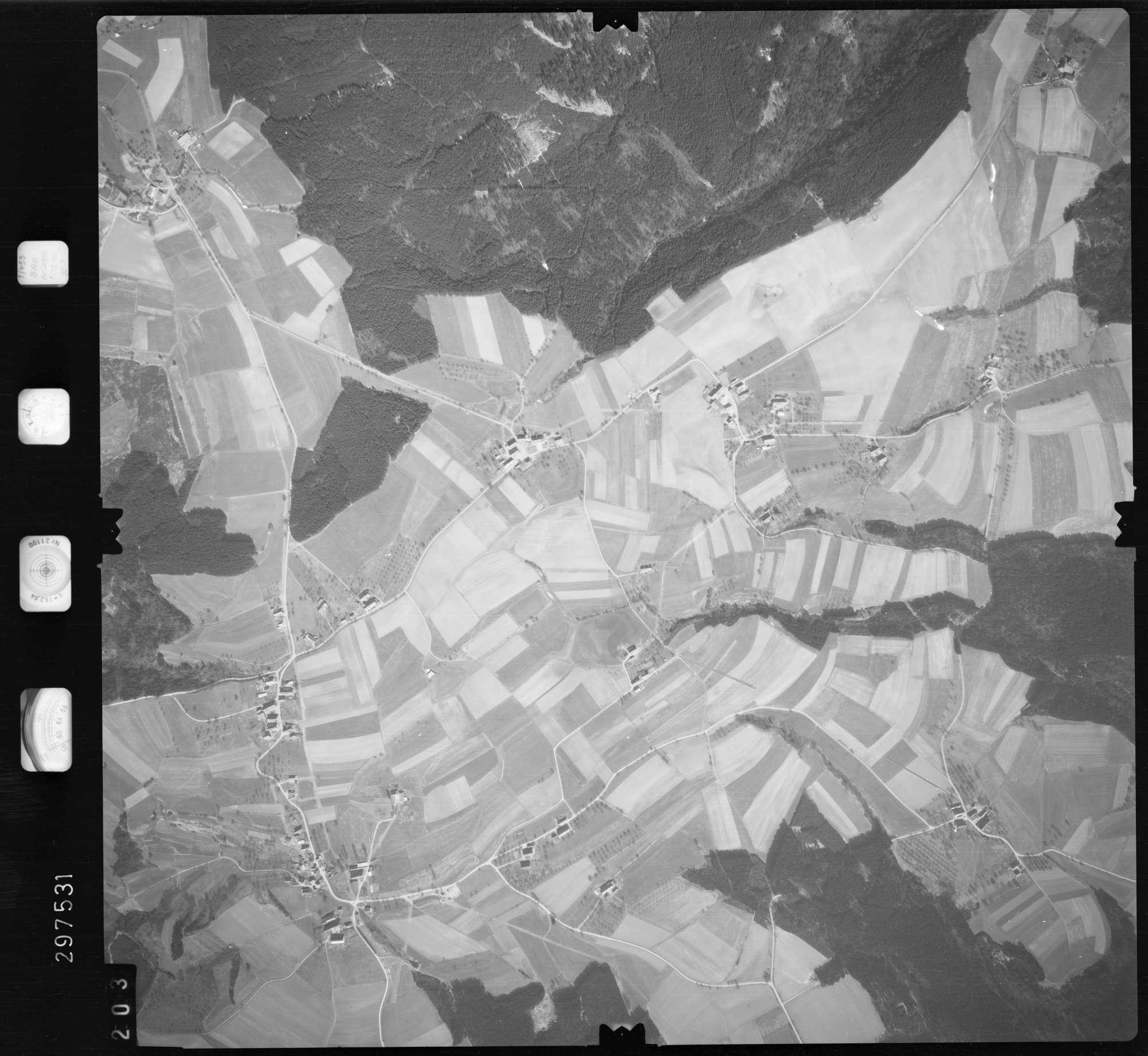 Luftbild: Film 66 Bildnr. 203, Bild 1
