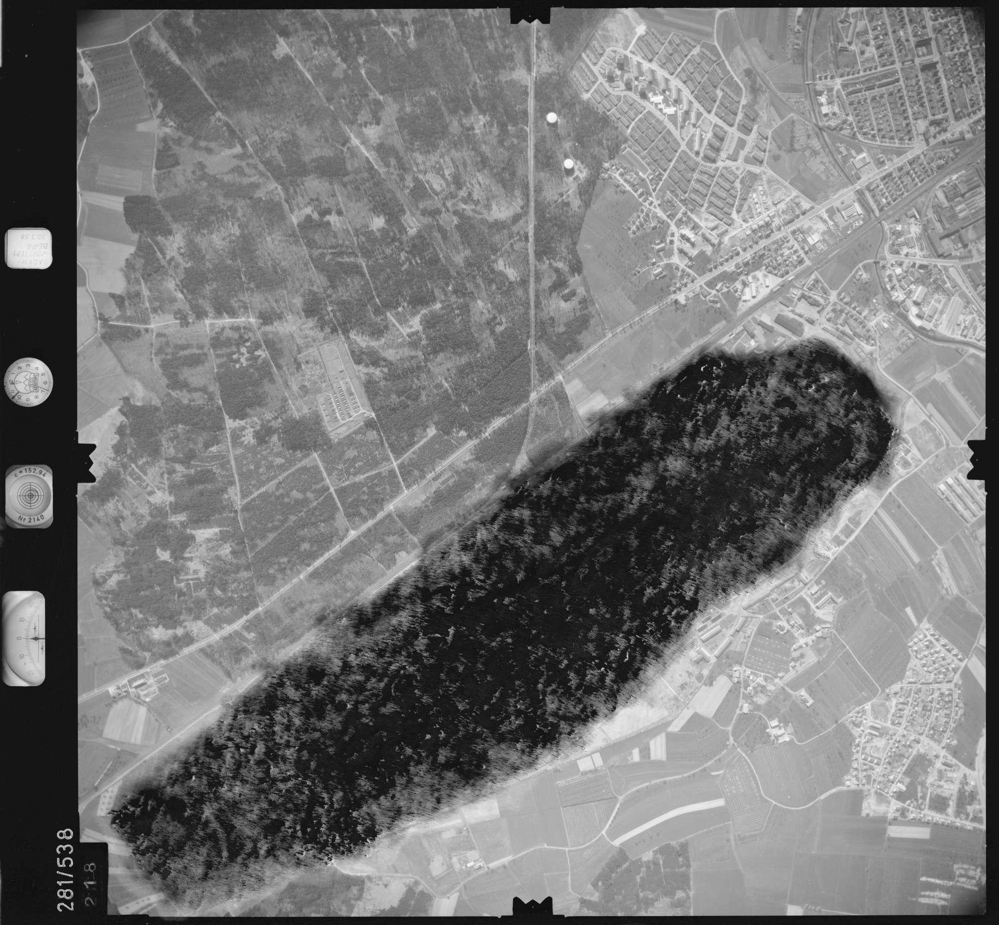 Luftbild: Film 27 Bildnr. 218, Bild 1