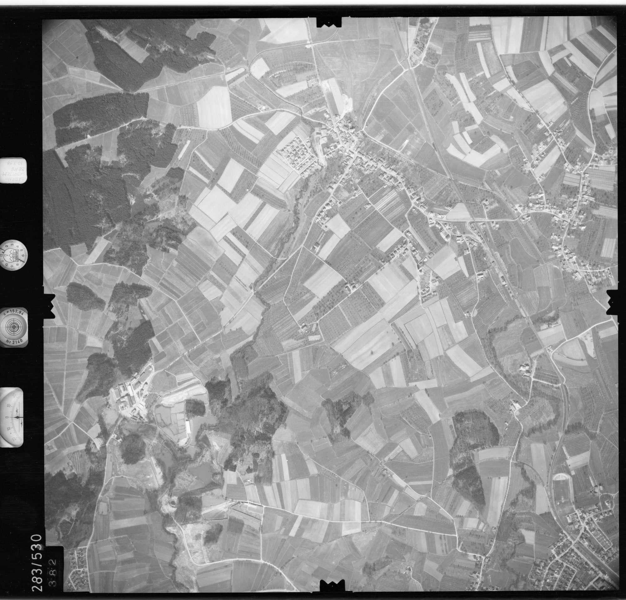 Luftbild: Film 79 Bildnr. 382, Bild 1