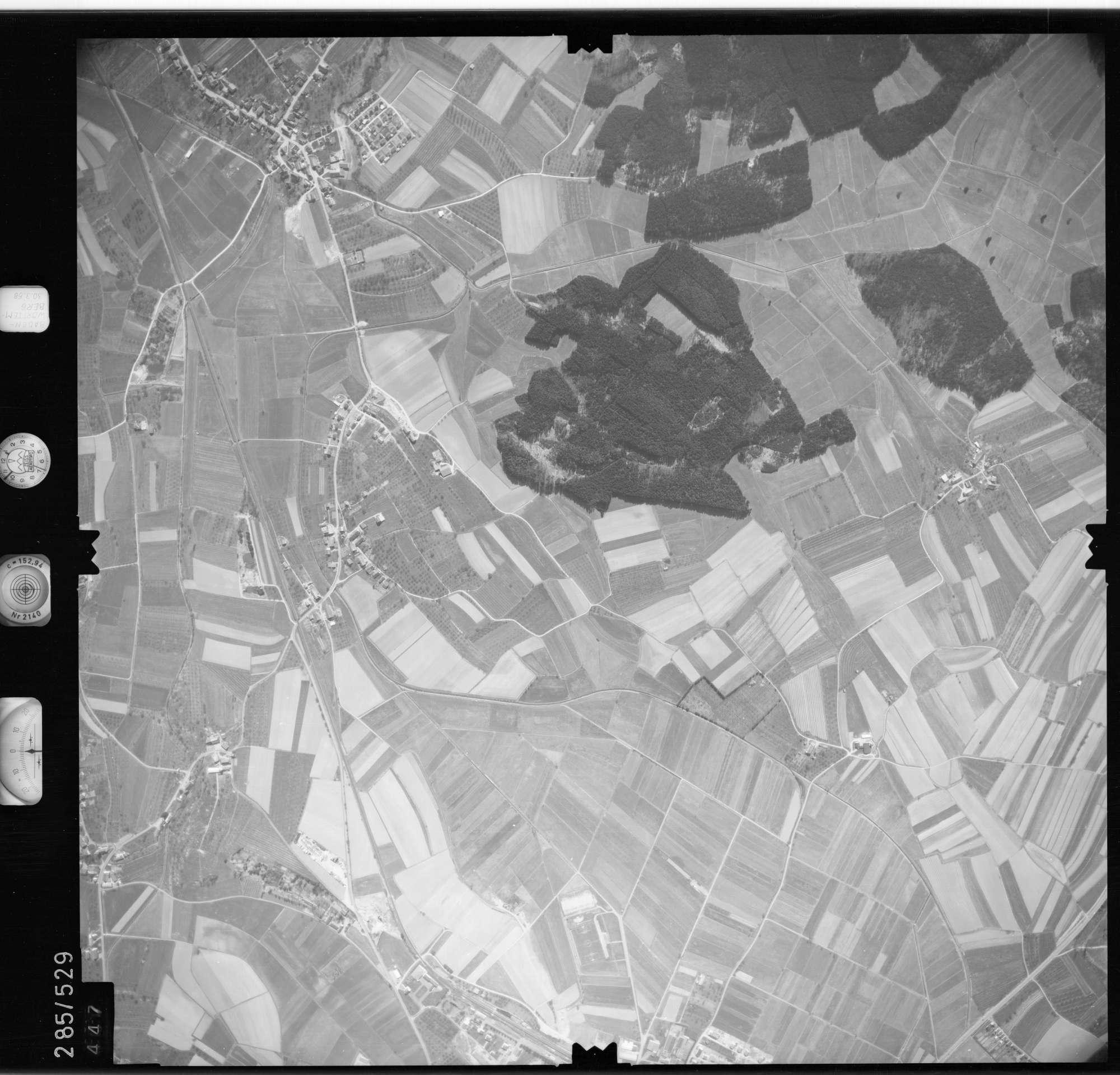 Luftbild: Film 79 Bildnr. 447, Bild 1
