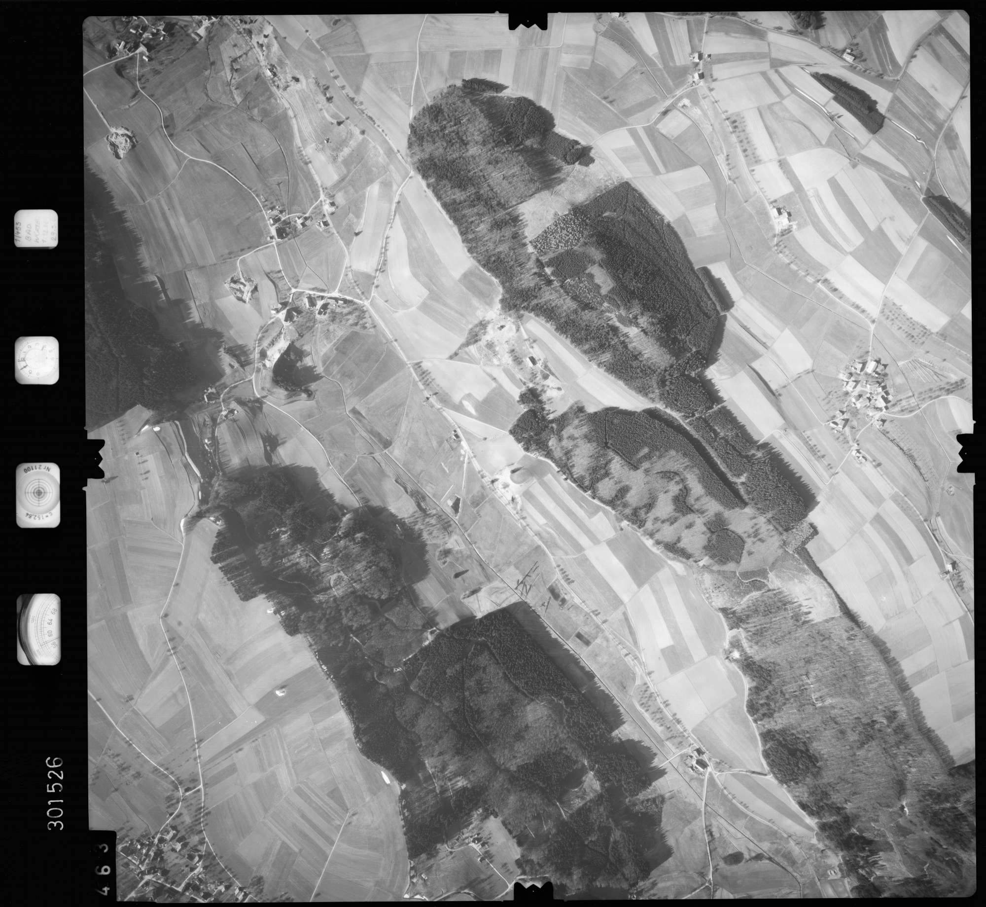 Luftbild: Film 64 Bildnr. 463, Bild 1