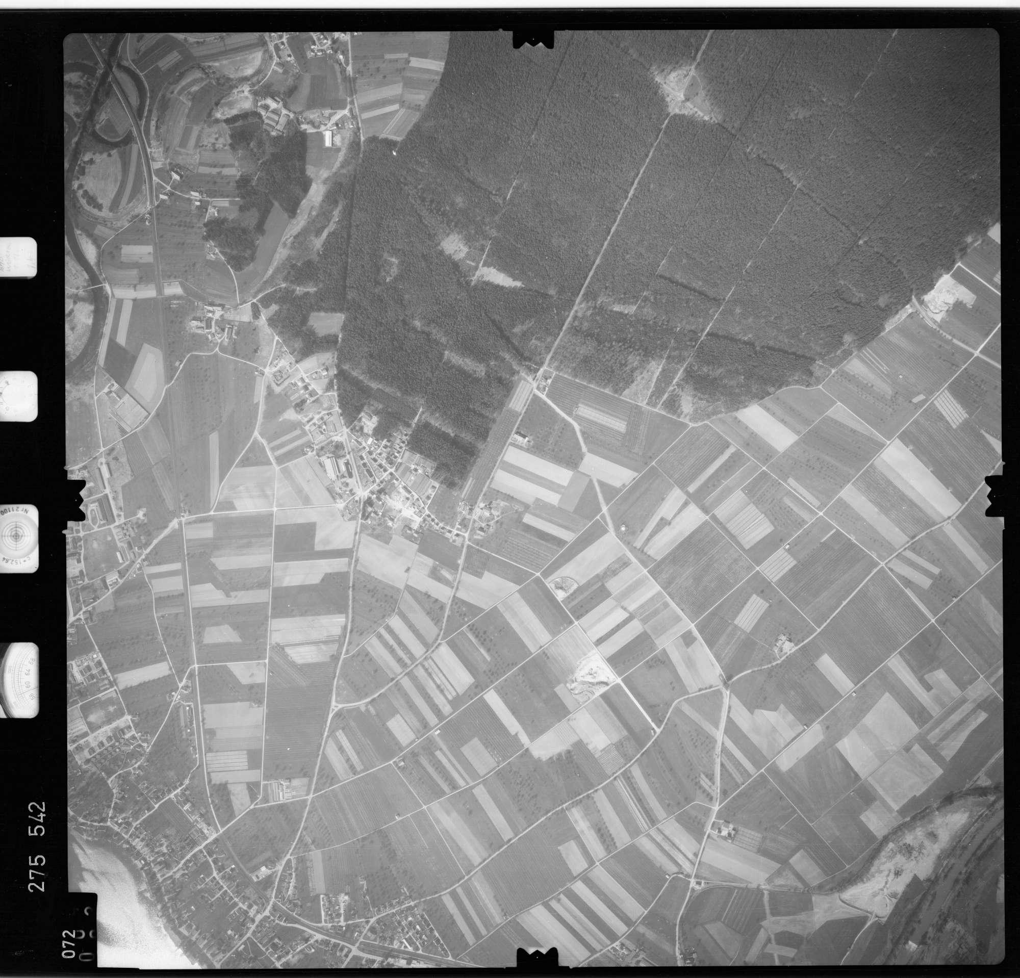Luftbild: Film 74 Bildnr. 72, Bild 1