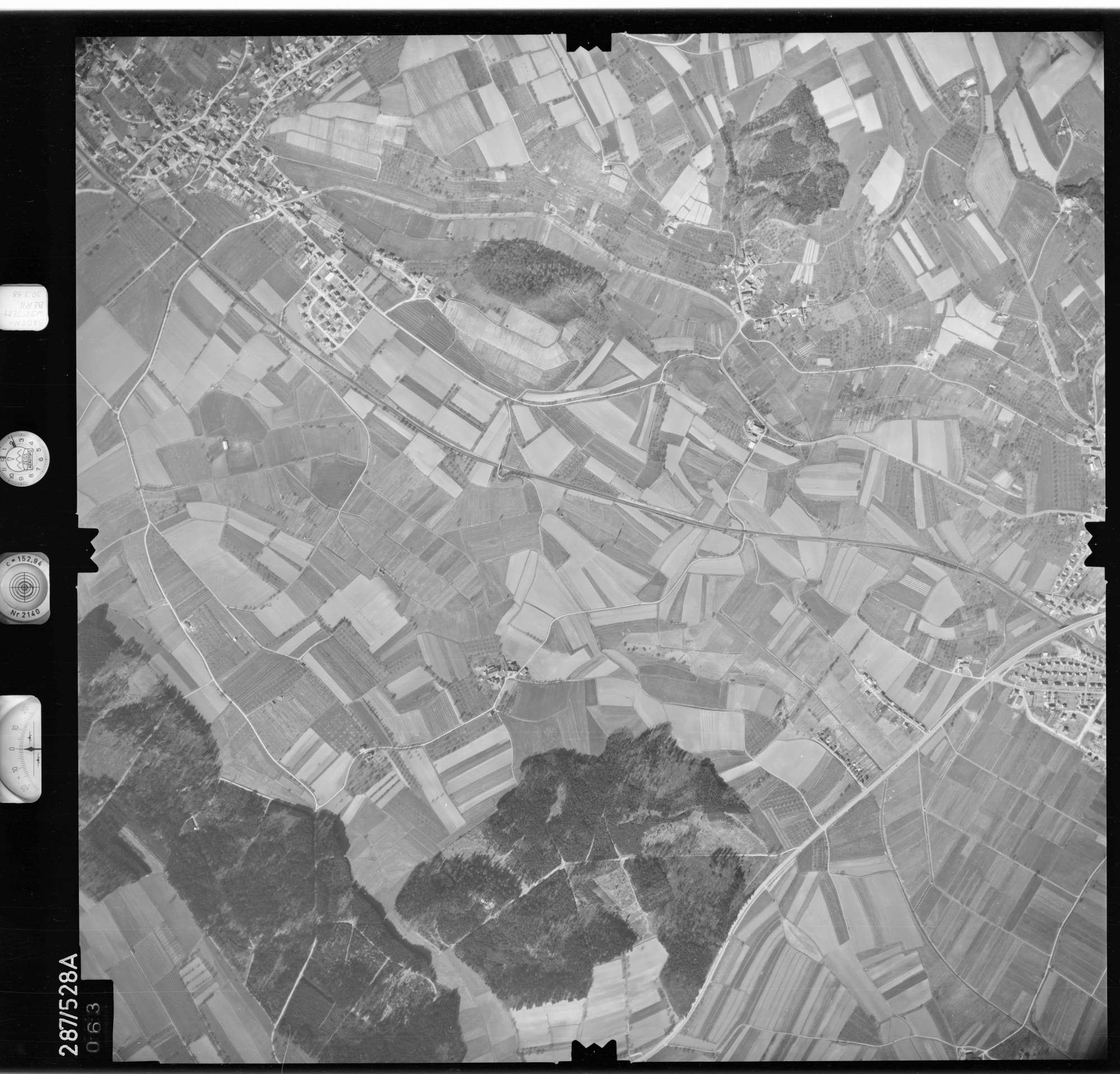 Luftbild: Film 78 Bildnr. 63, Bild 1