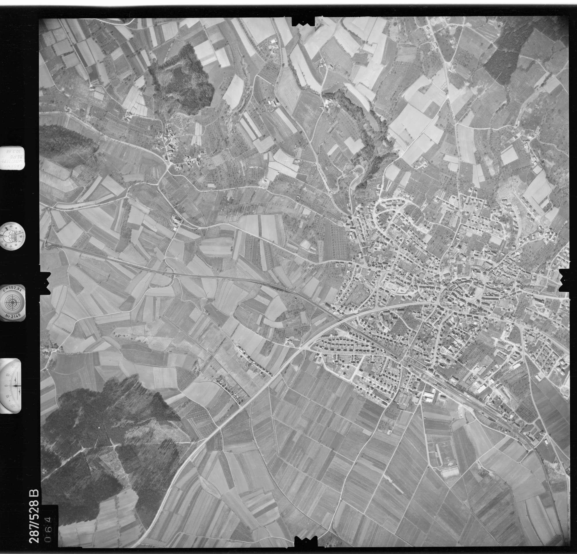 Luftbild: Film 78 Bildnr. 64, Bild 1