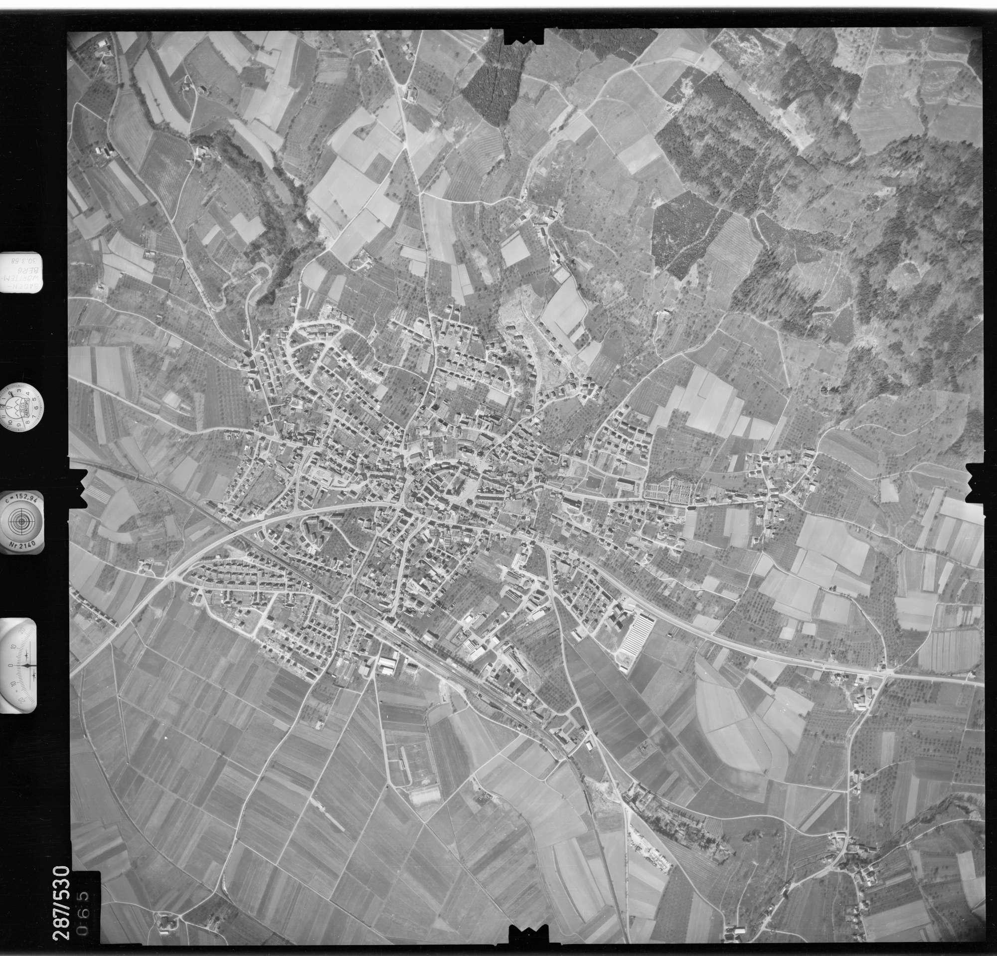 Luftbild: Film 78 Bildnr. 65, Bild 1
