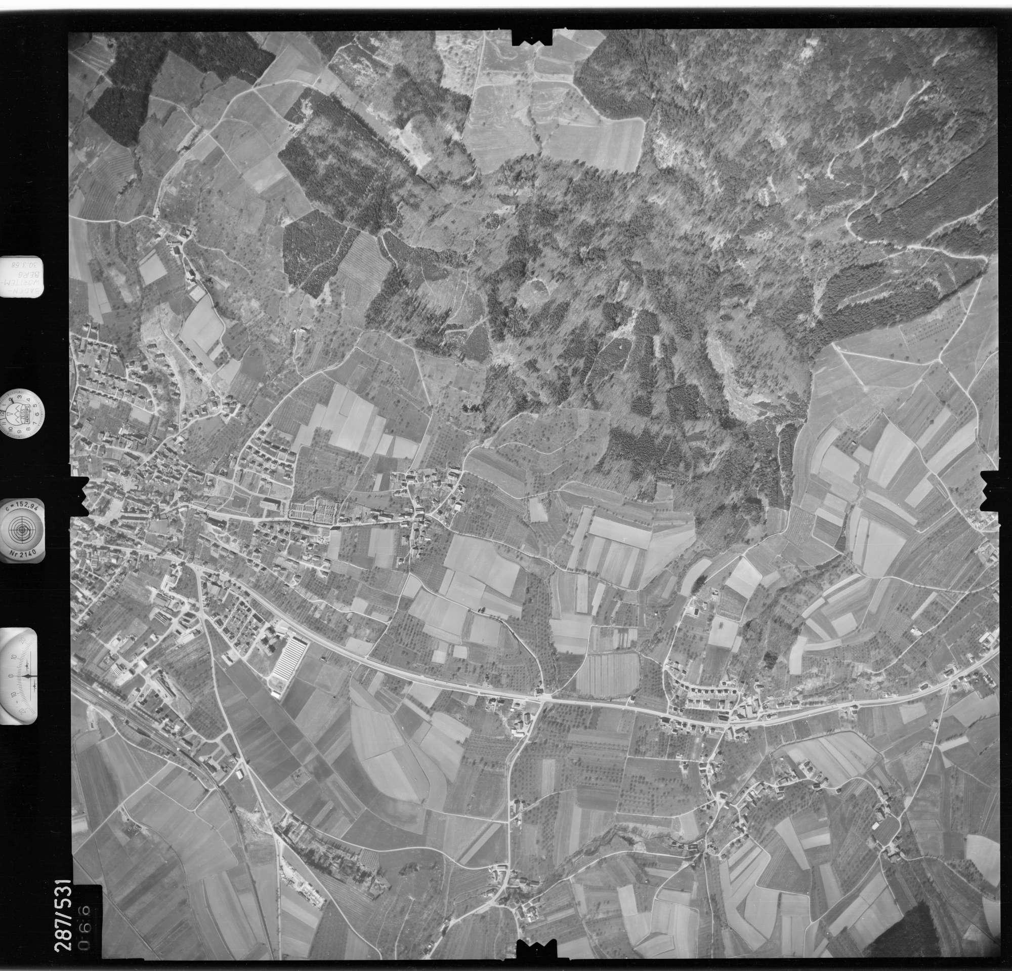 Luftbild: Film 78 Bildnr. 66, Bild 1
