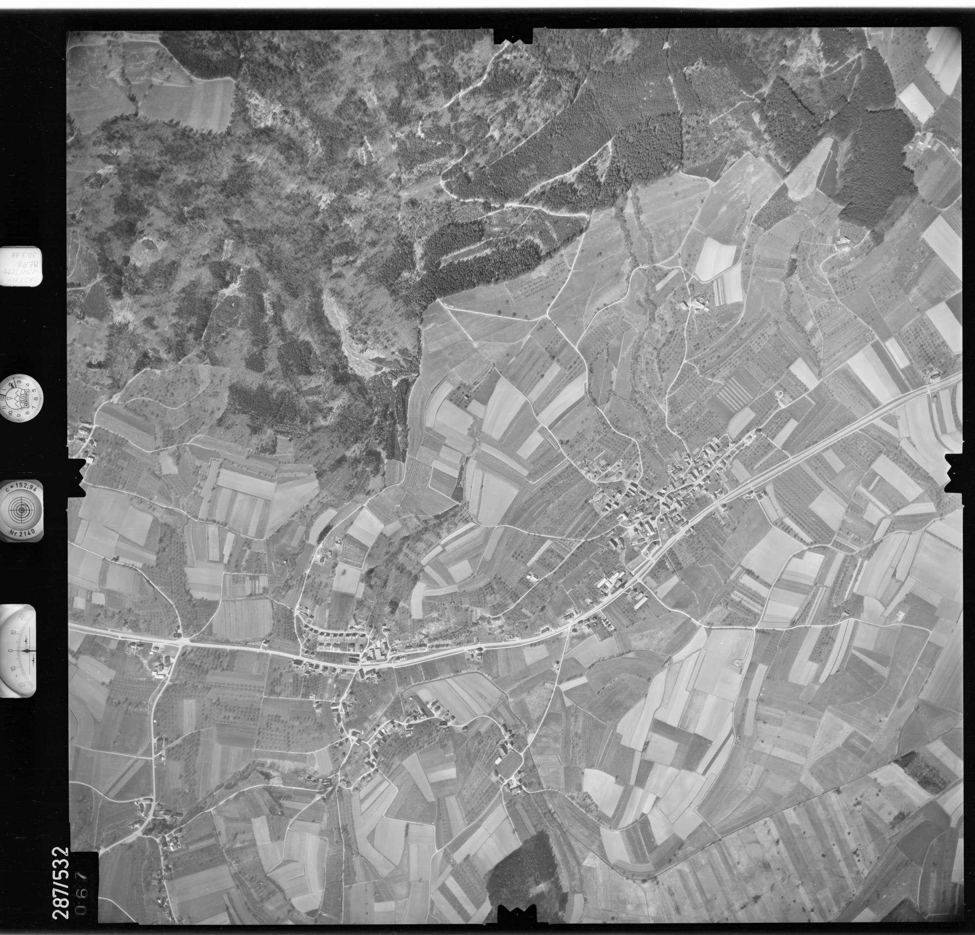 Luftbild: Film 78 Bildnr. 67, Bild 1