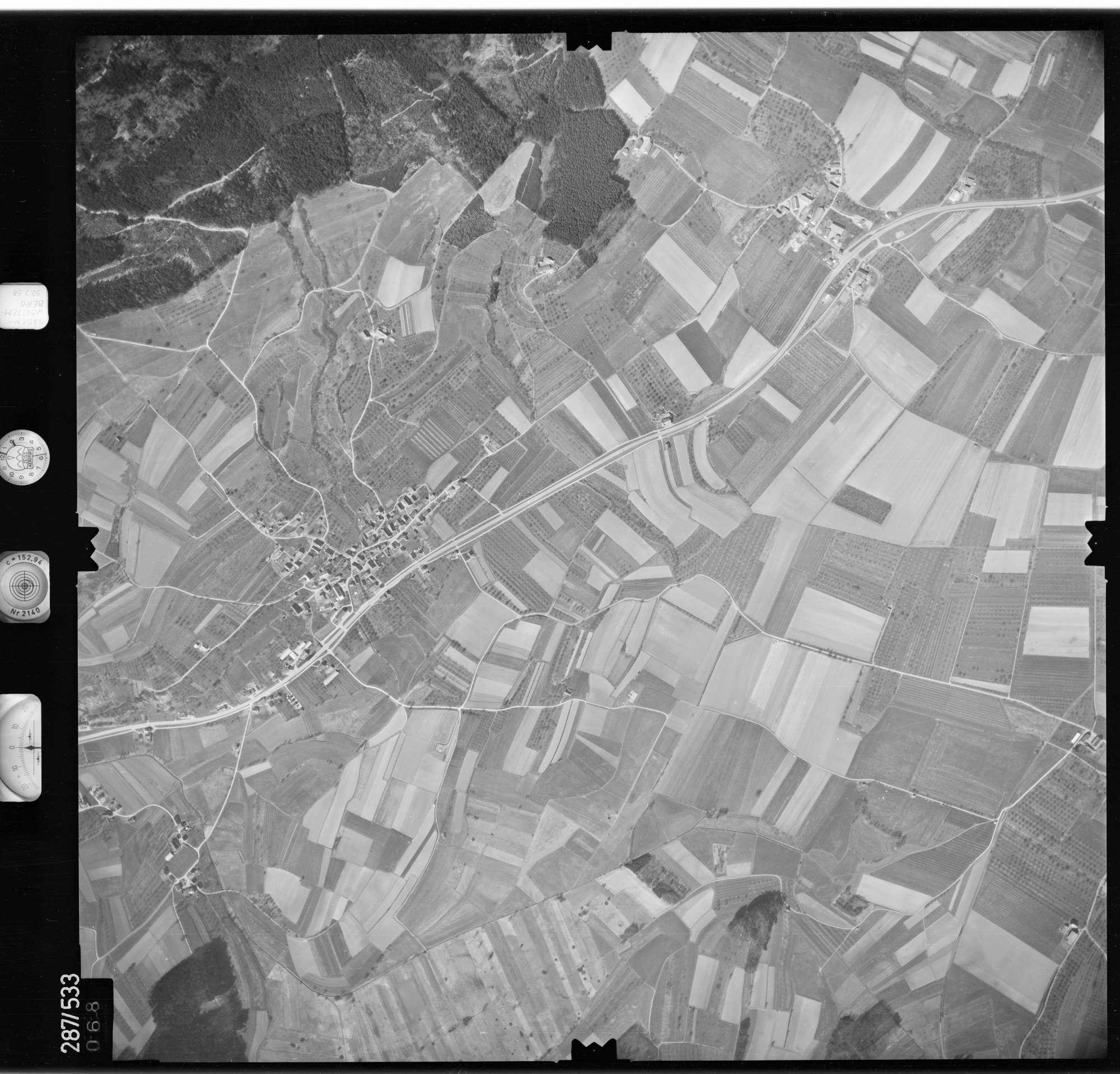 Luftbild: Film 78 Bildnr. 68, Bild 1