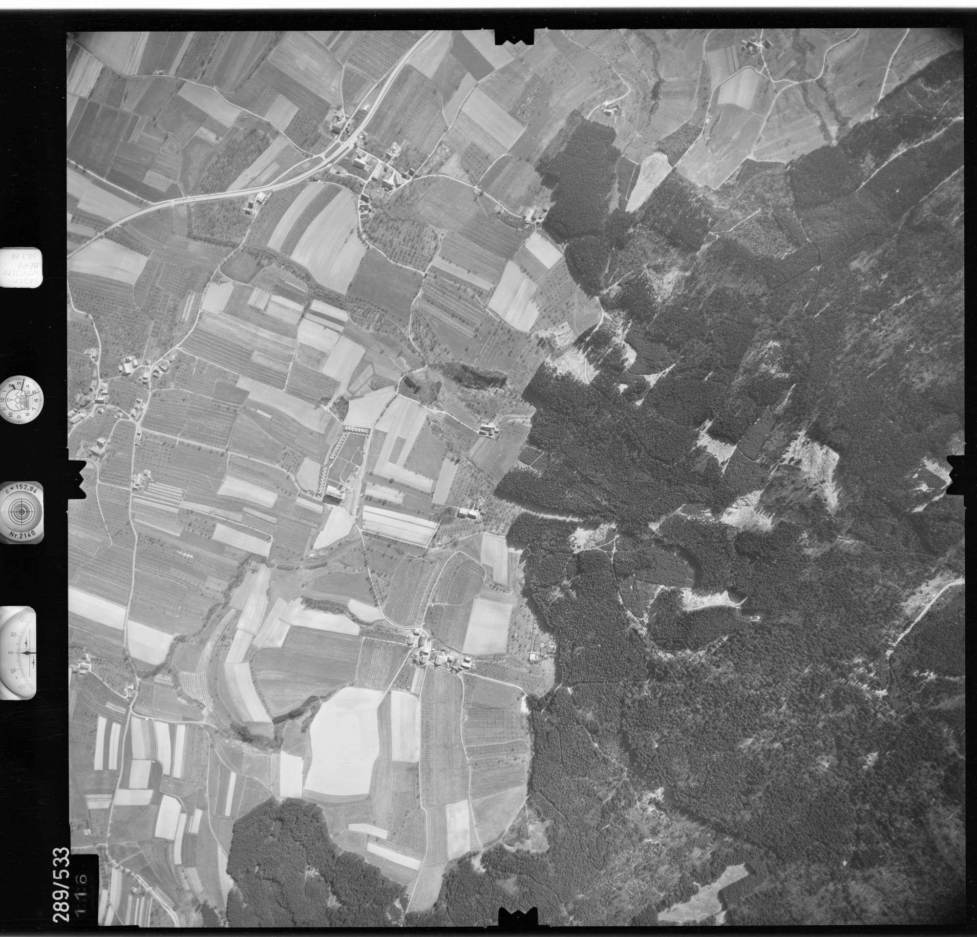 Luftbild: Film 78 Bildnr. 116, Bild 1