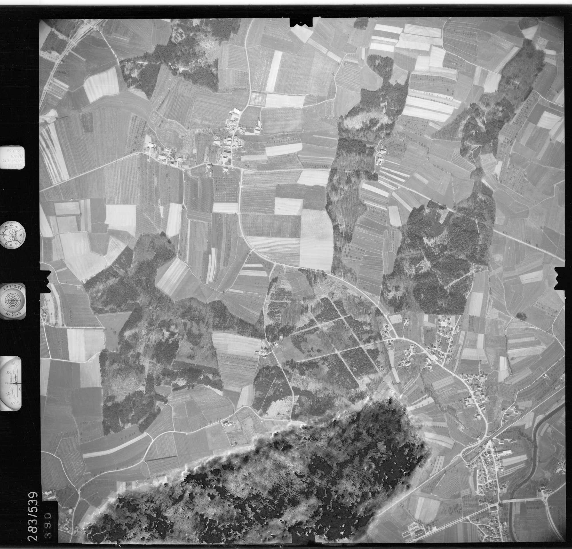 Luftbild: Film 79 Bildnr. 390, Bild 1