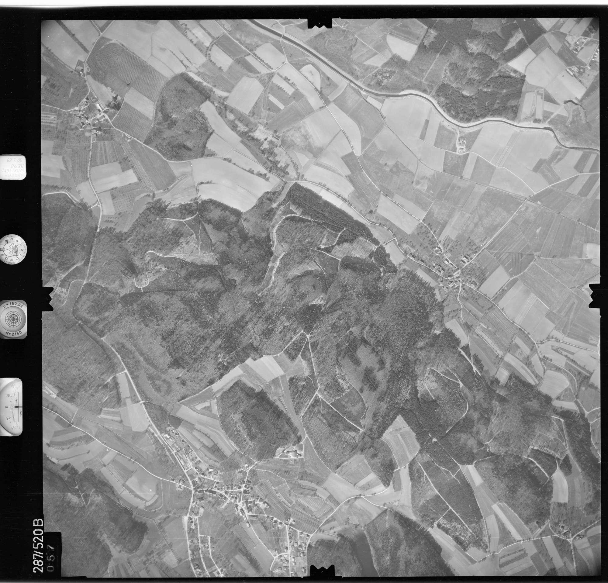 Luftbild: Film 78 Bildnr. 57, Bild 1