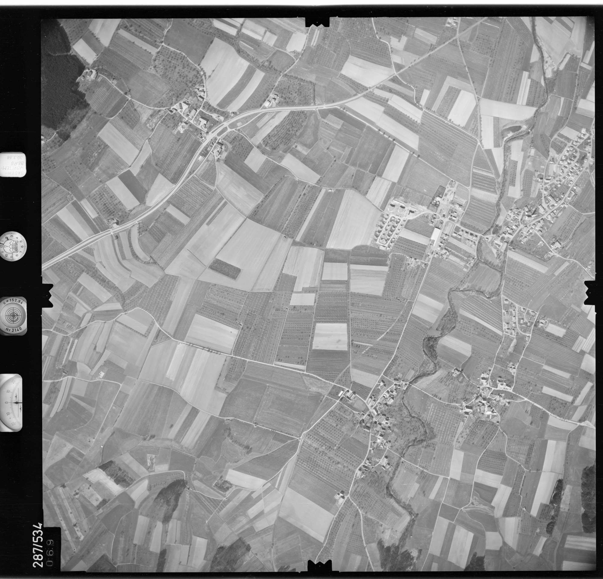 Luftbild: Film 78 Bildnr. 69, Bild 1