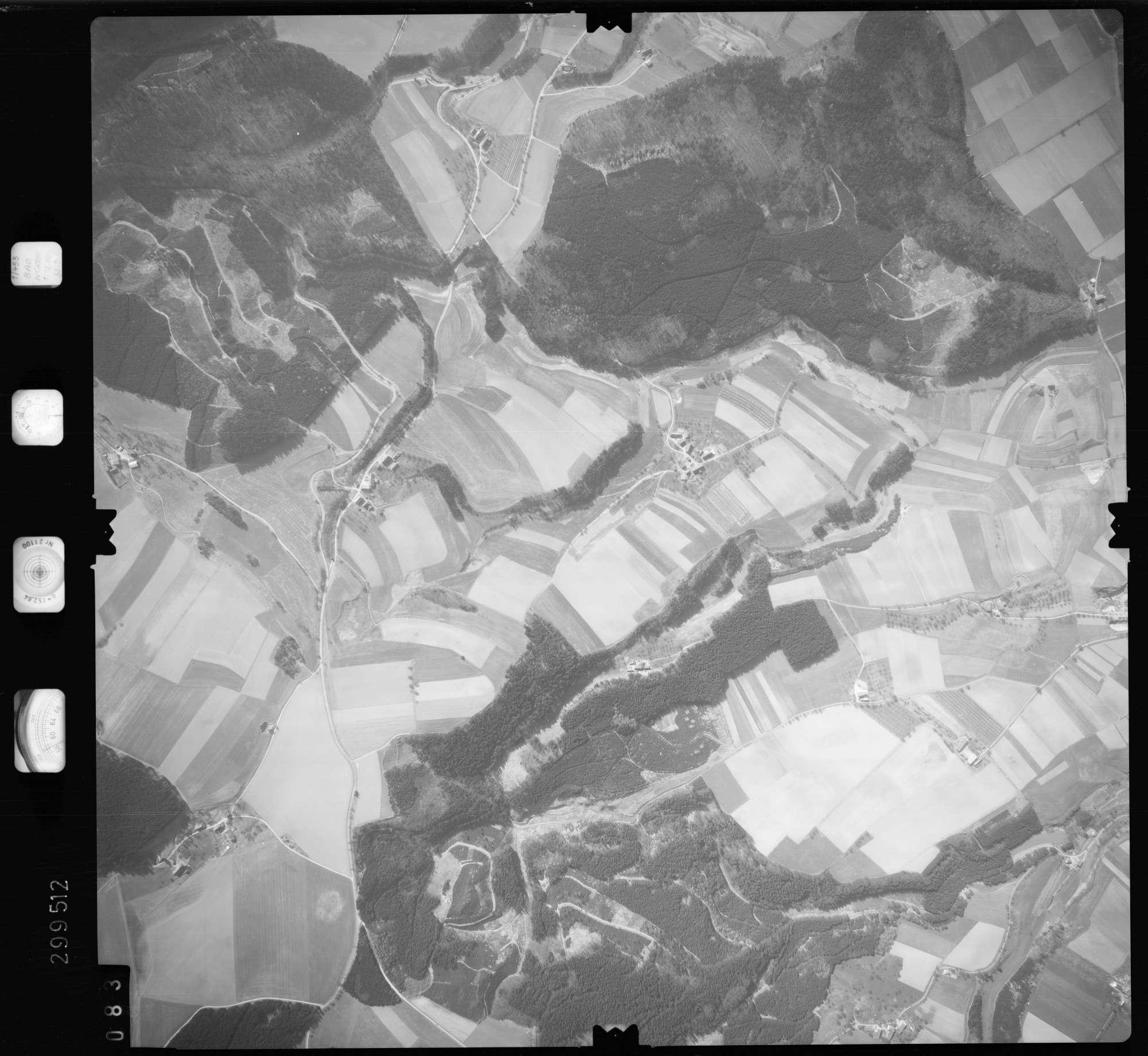 Luftbild: Film 66 Bildnr. 83, Bild 1