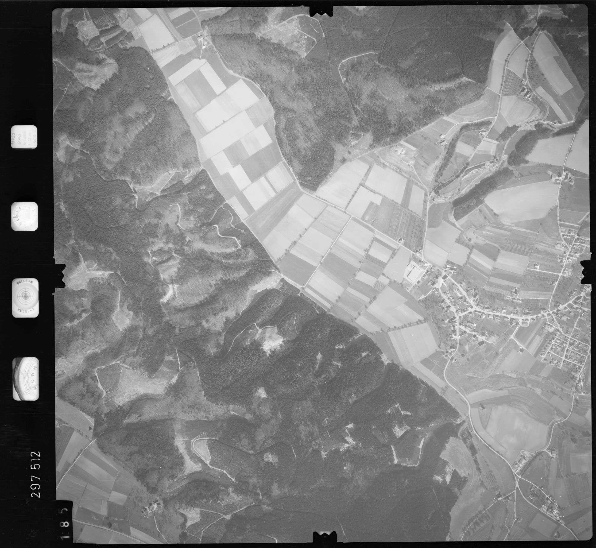 Luftbild: Film 66 Bildnr. 185, Bild 1