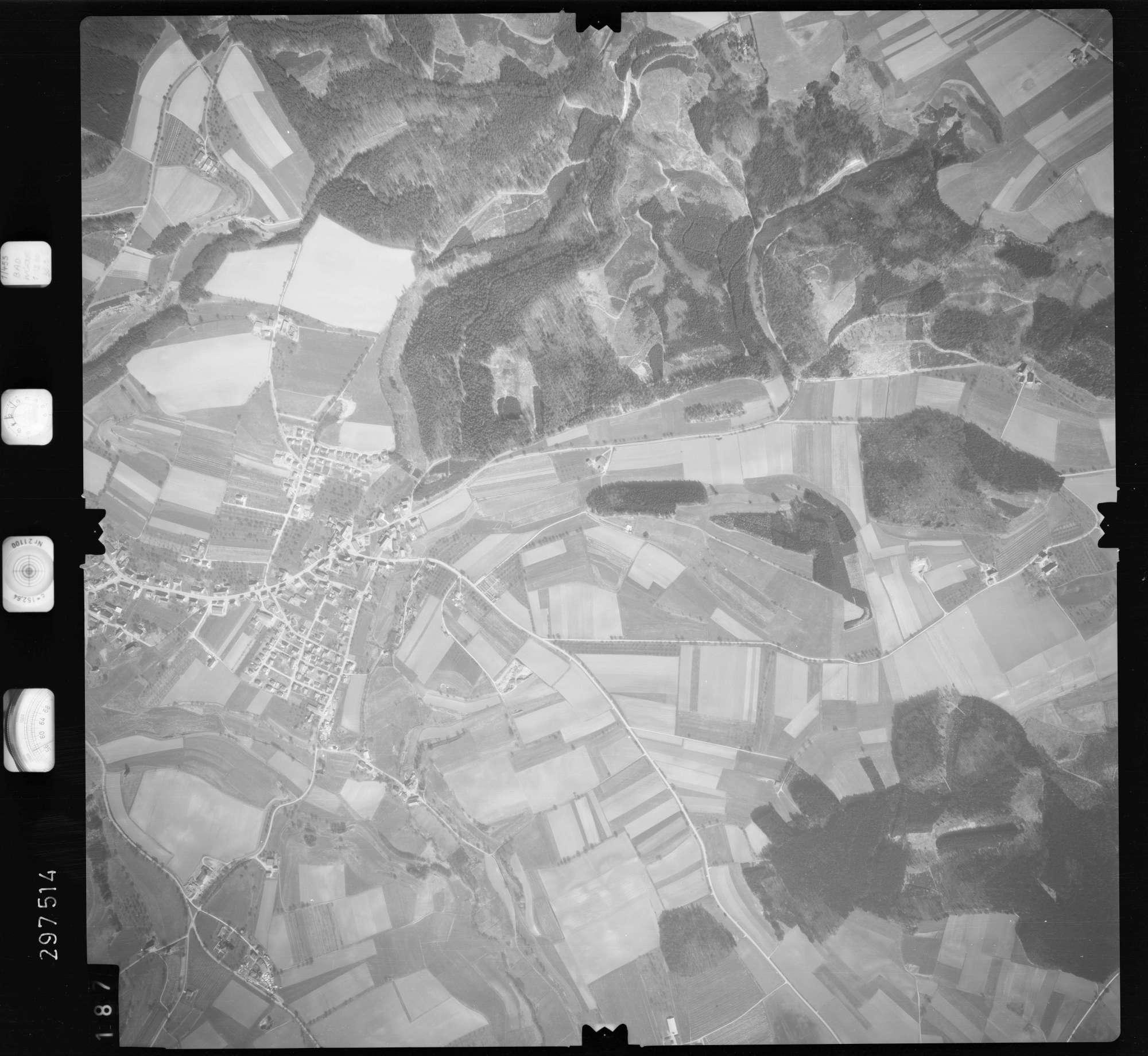Luftbild: Film 66 Bildnr. 187, Bild 1