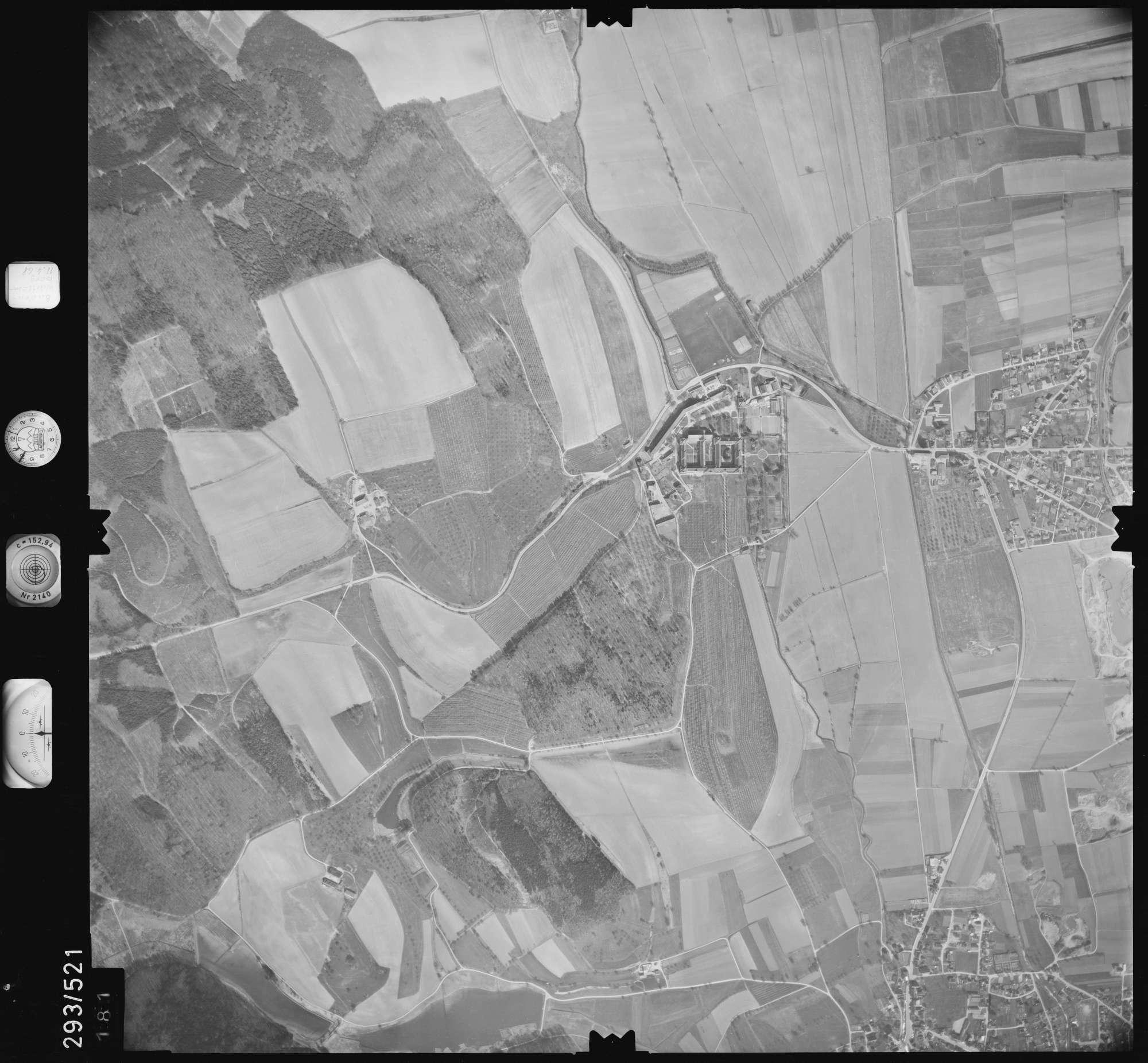 Luftbild: Film 43 Bildnr. 181, Bild 1