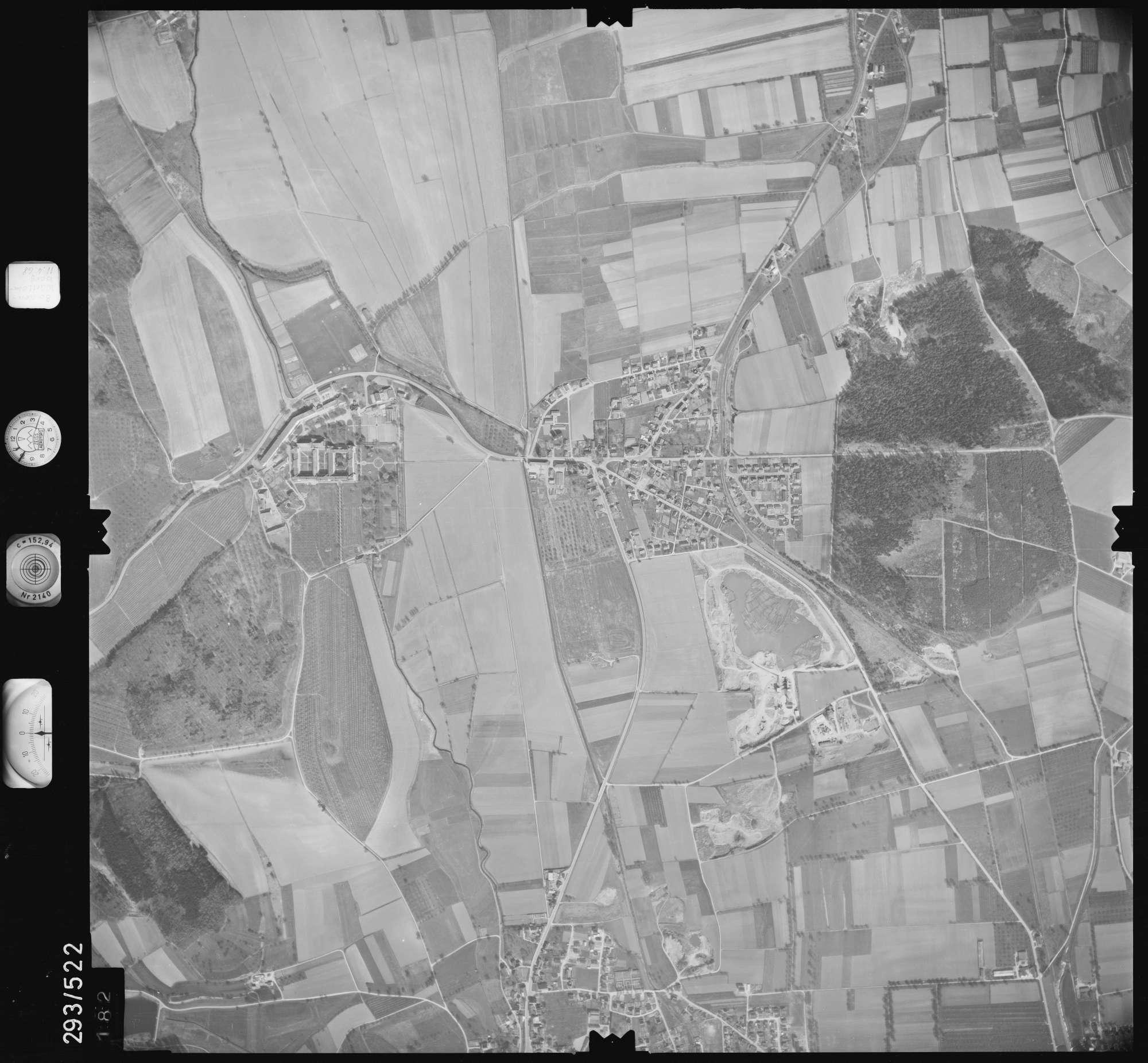 Luftbild: Film 43 Bildnr. 182, Bild 1
