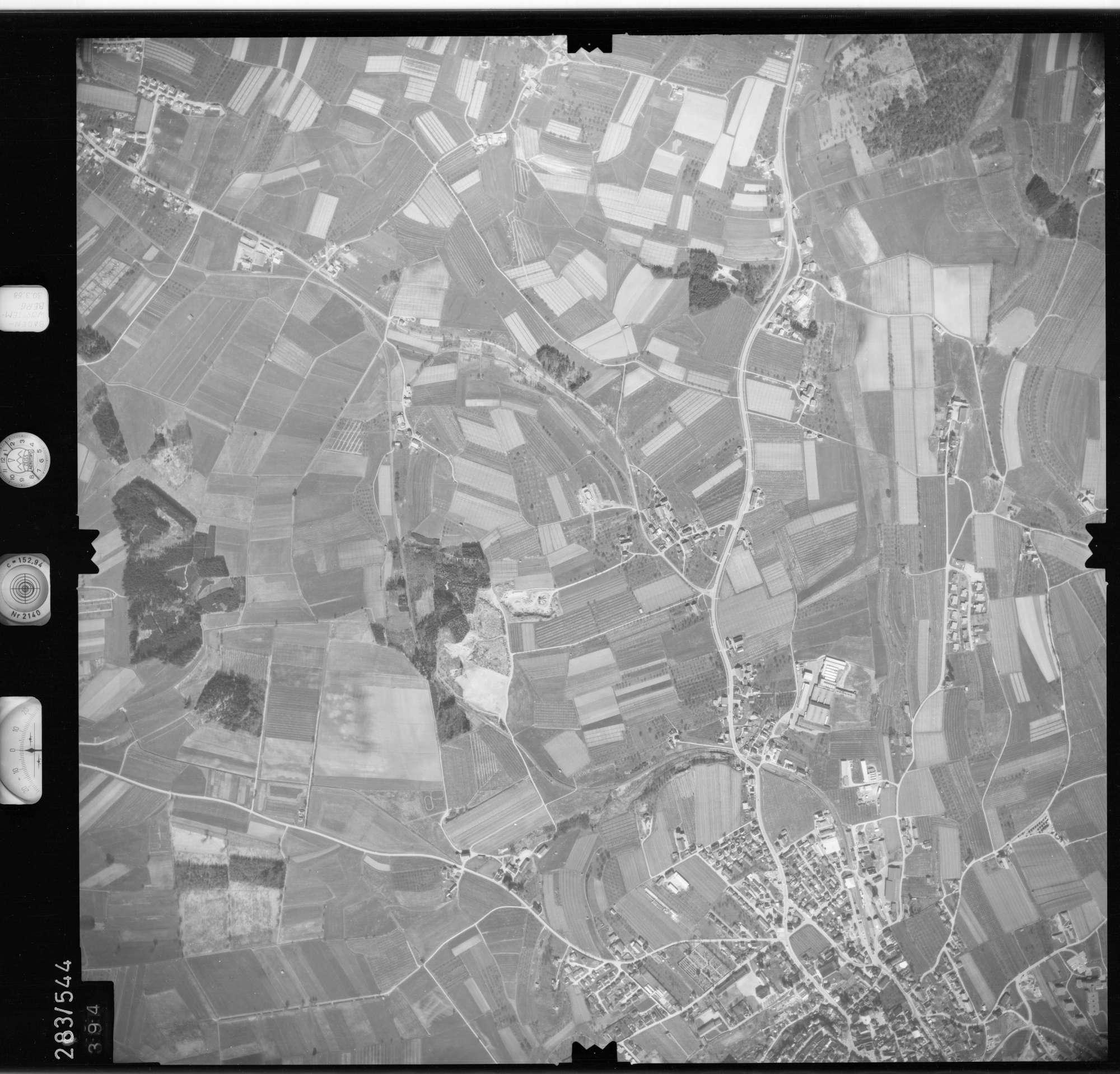 Luftbild: Film 79 Bildnr. 394, Bild 1