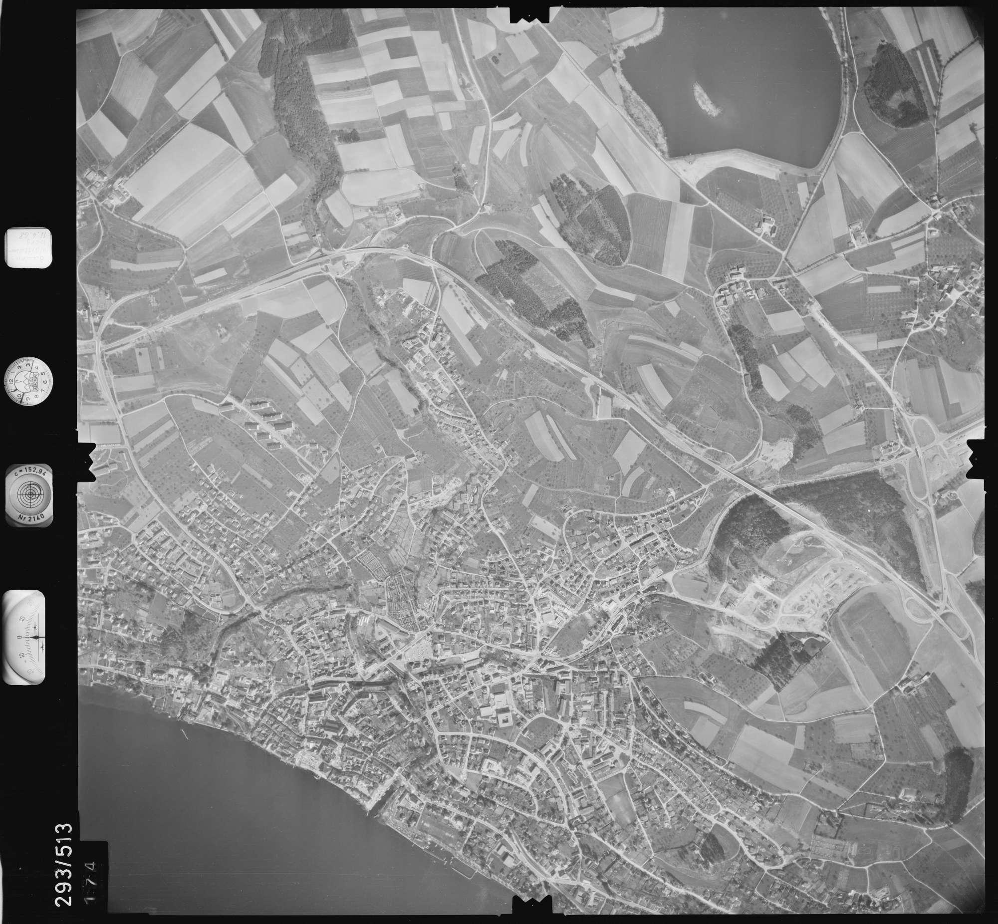 Luftbild: Film 43 Bildnr. 174, Bild 1