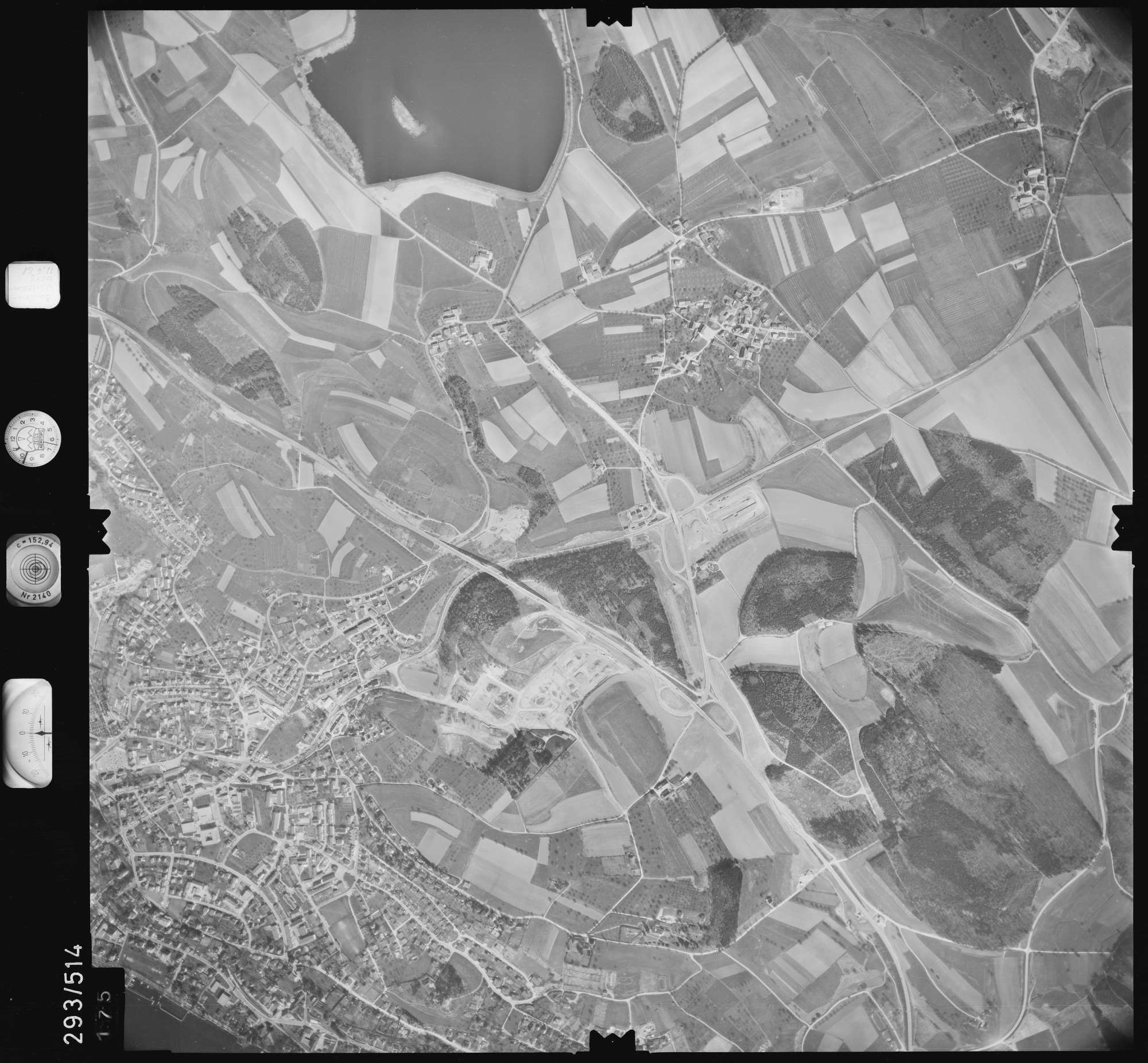 Luftbild: Film 43 Bildnr. 175, Bild 1
