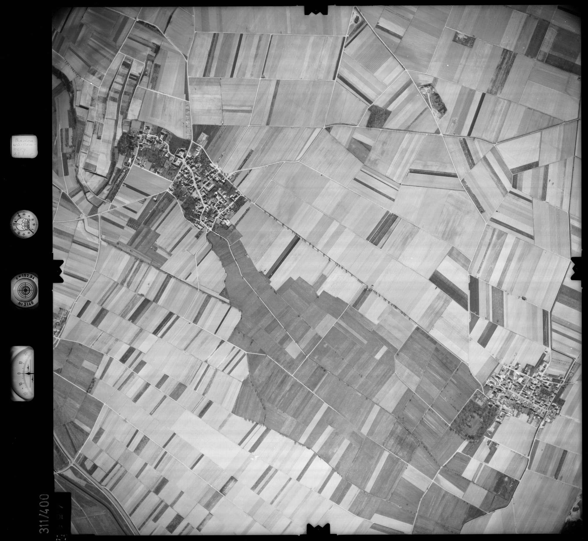 Luftbild: Film 54 Bildnr. 157, Bild 1
