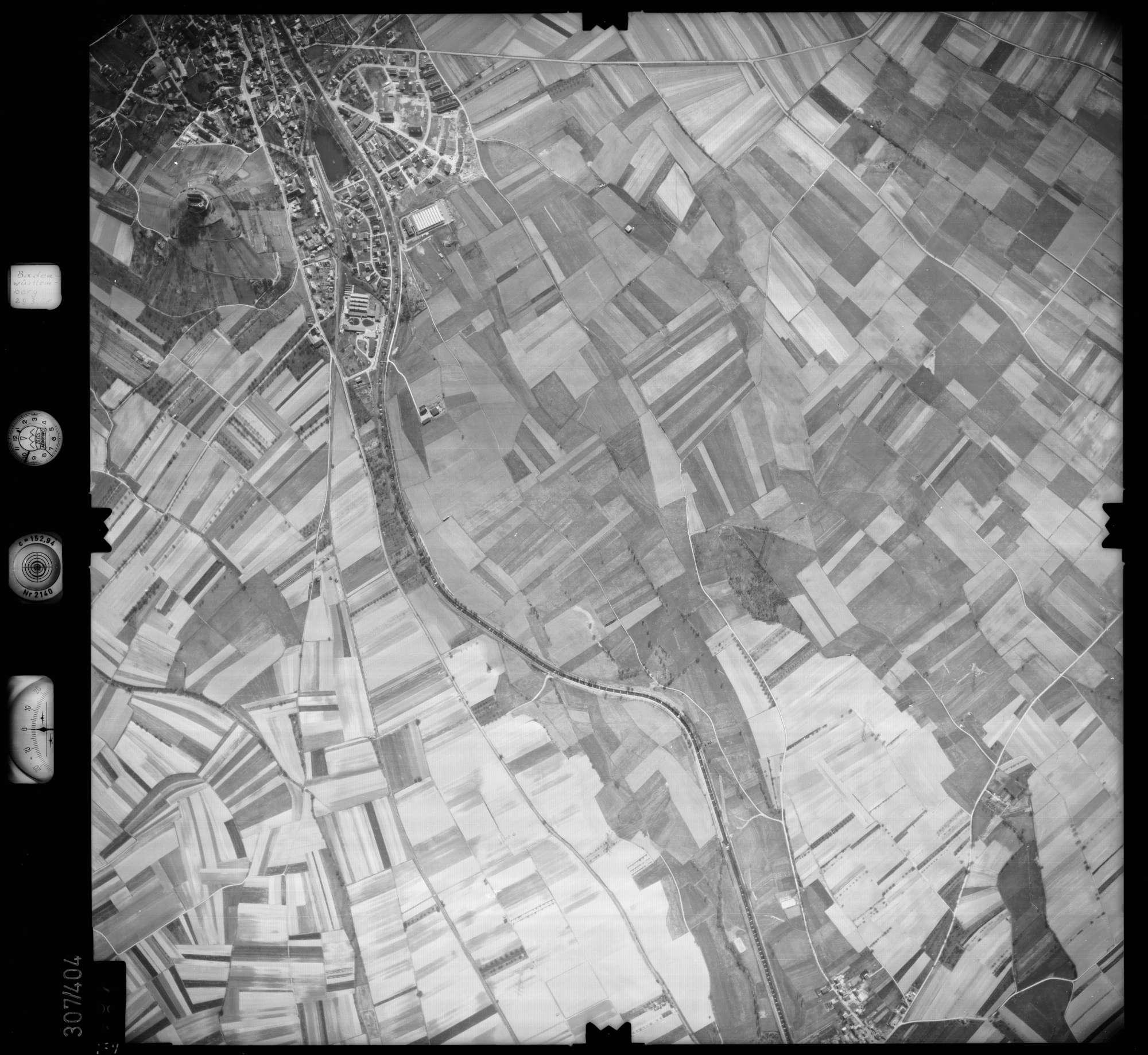 Luftbild: Film 54 Bildnr. 187, Bild 1