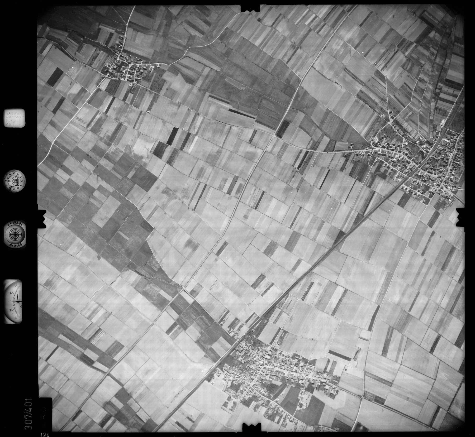 Luftbild: Film 54 Bildnr. 190, Bild 1