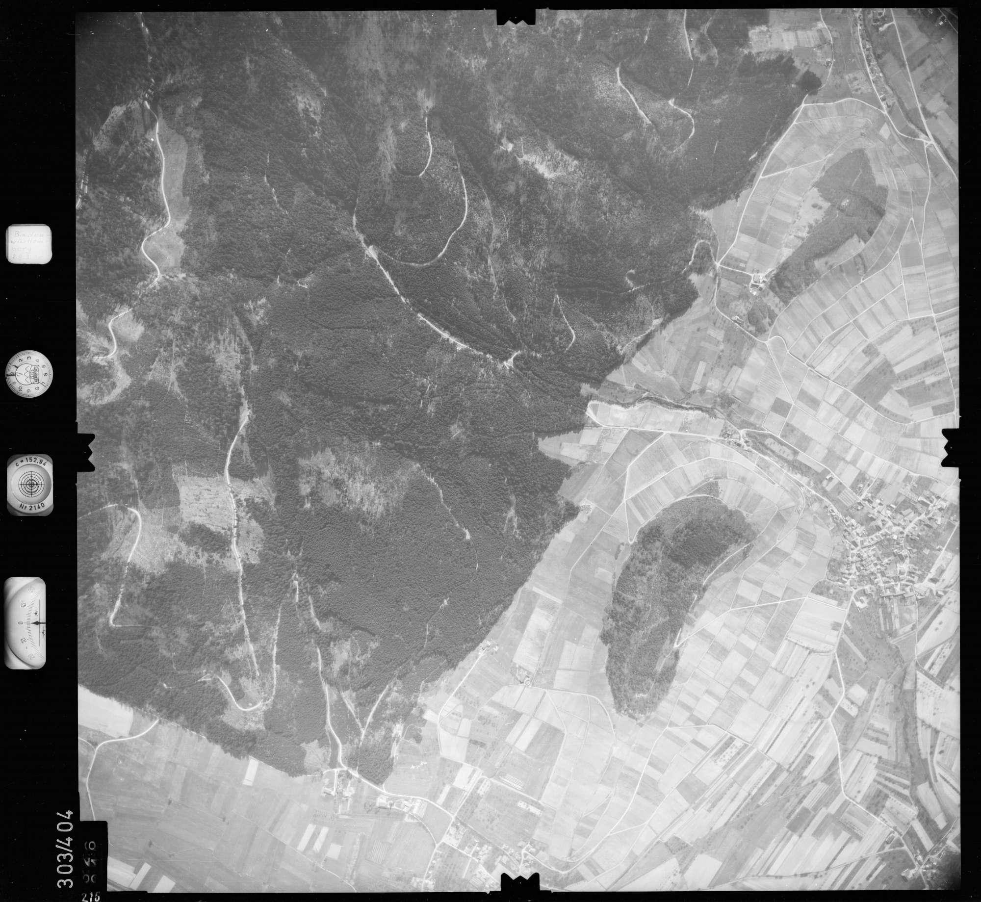 Luftbild: Film 54 Bildnr. 216, Bild 1