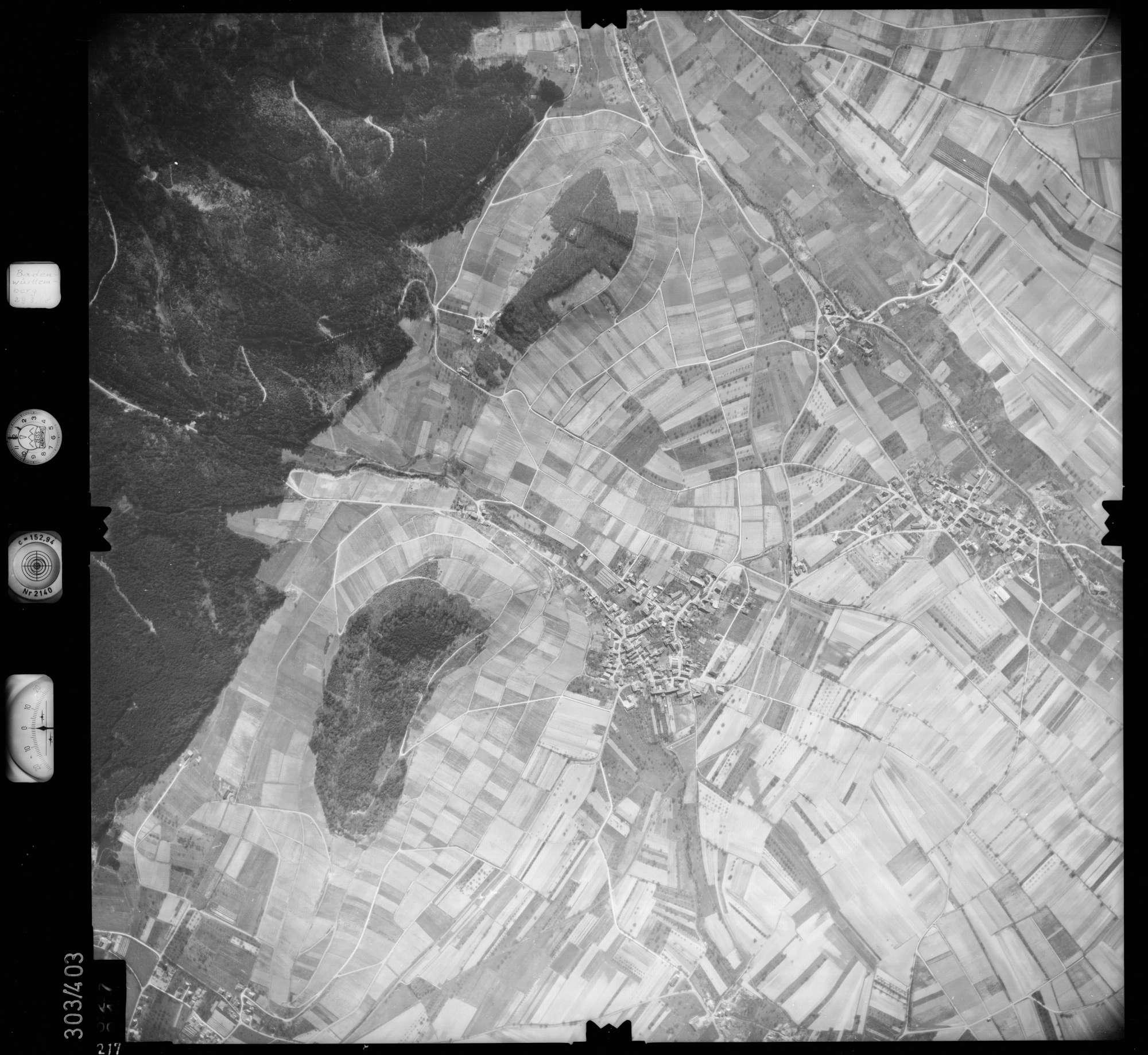 Luftbild: Film 54 Bildnr. 217, Bild 1