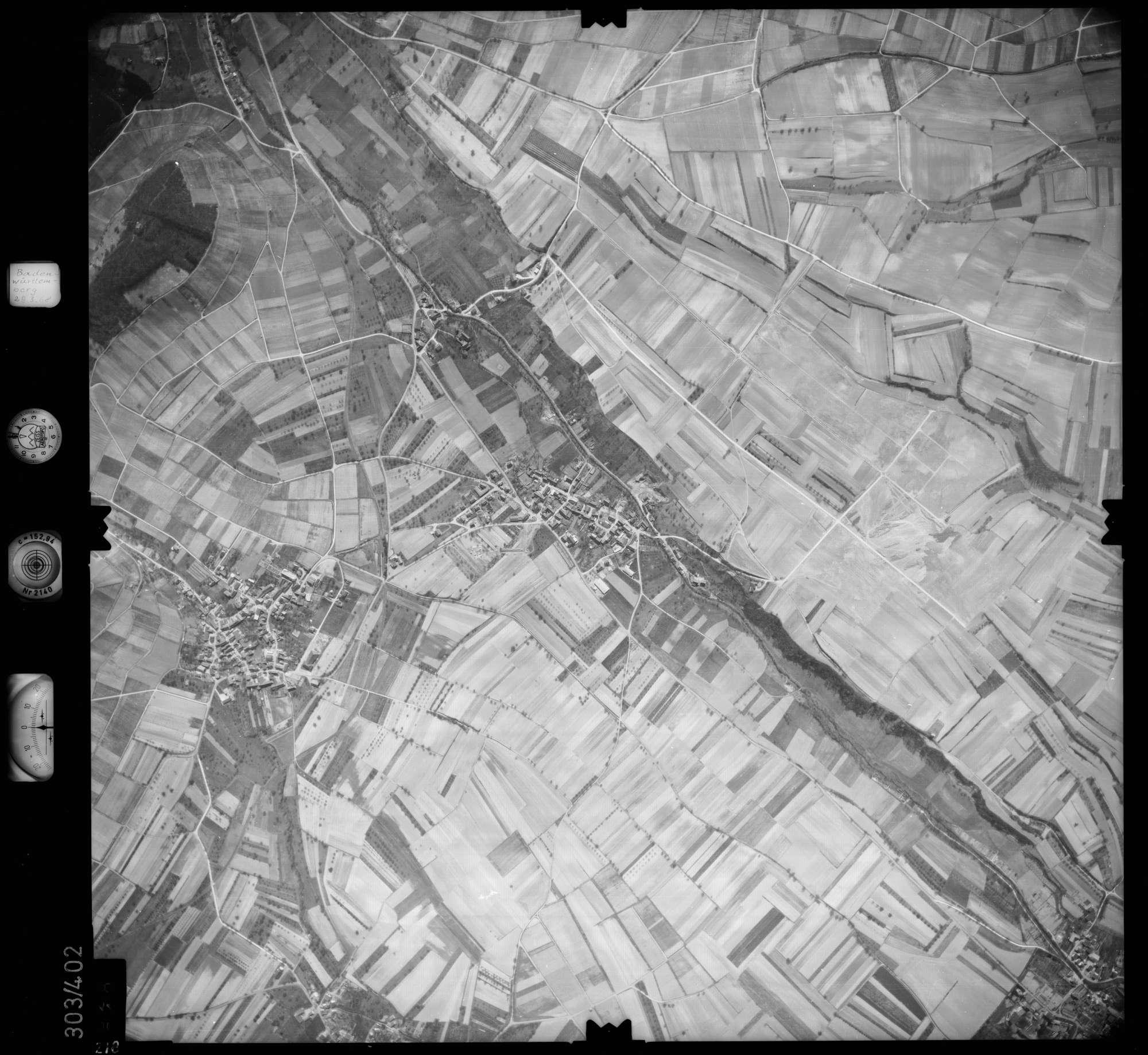 Luftbild: Film 54 Bildnr. 218, Bild 1