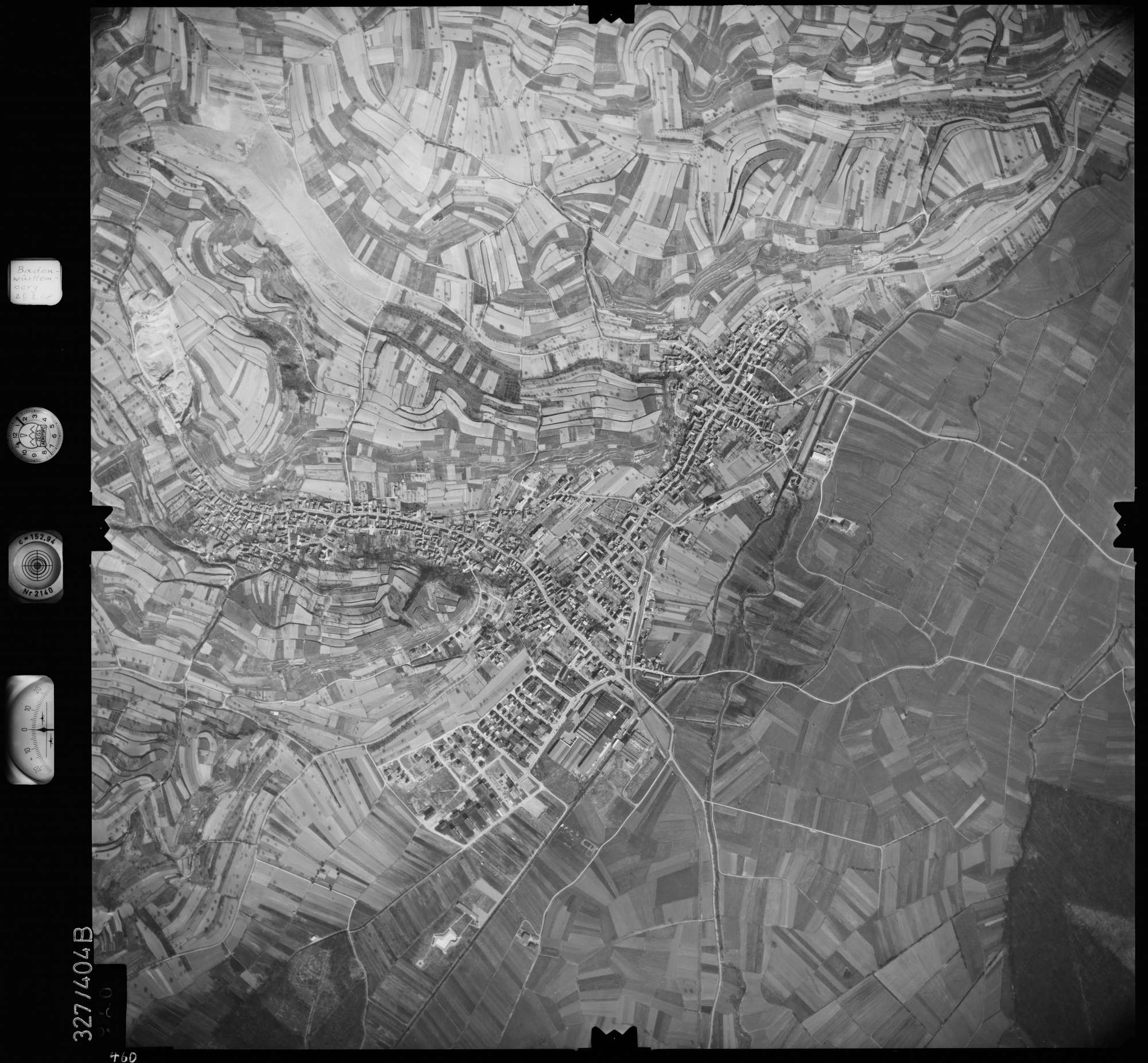 Luftbild: Film 47 Bildnr. 460, Bild 1