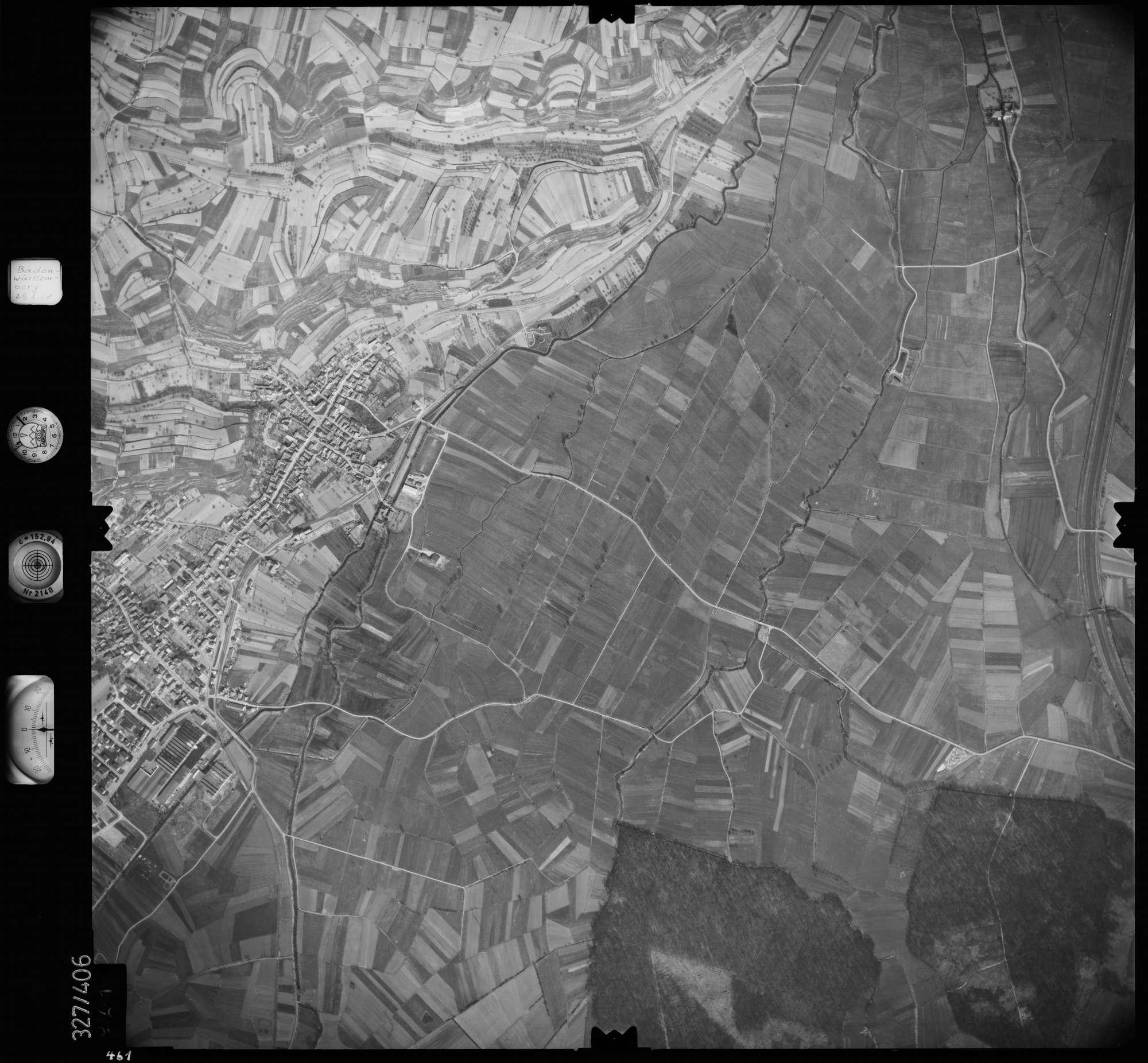 Luftbild: Film 47 Bildnr. 461, Bild 1