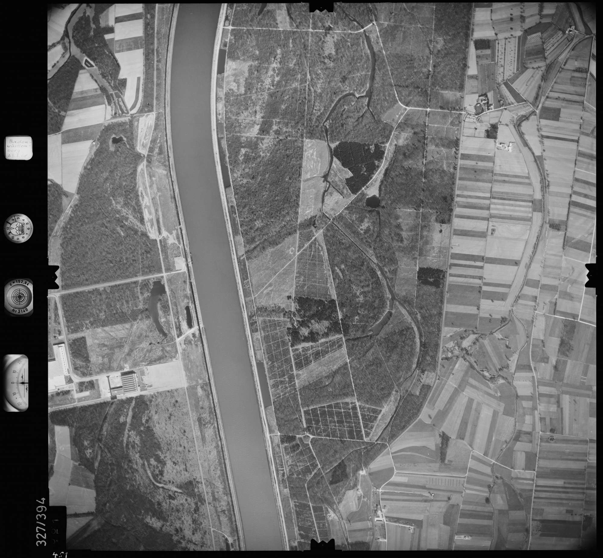 Luftbild: Film 47 Bildnr. 451, Bild 1